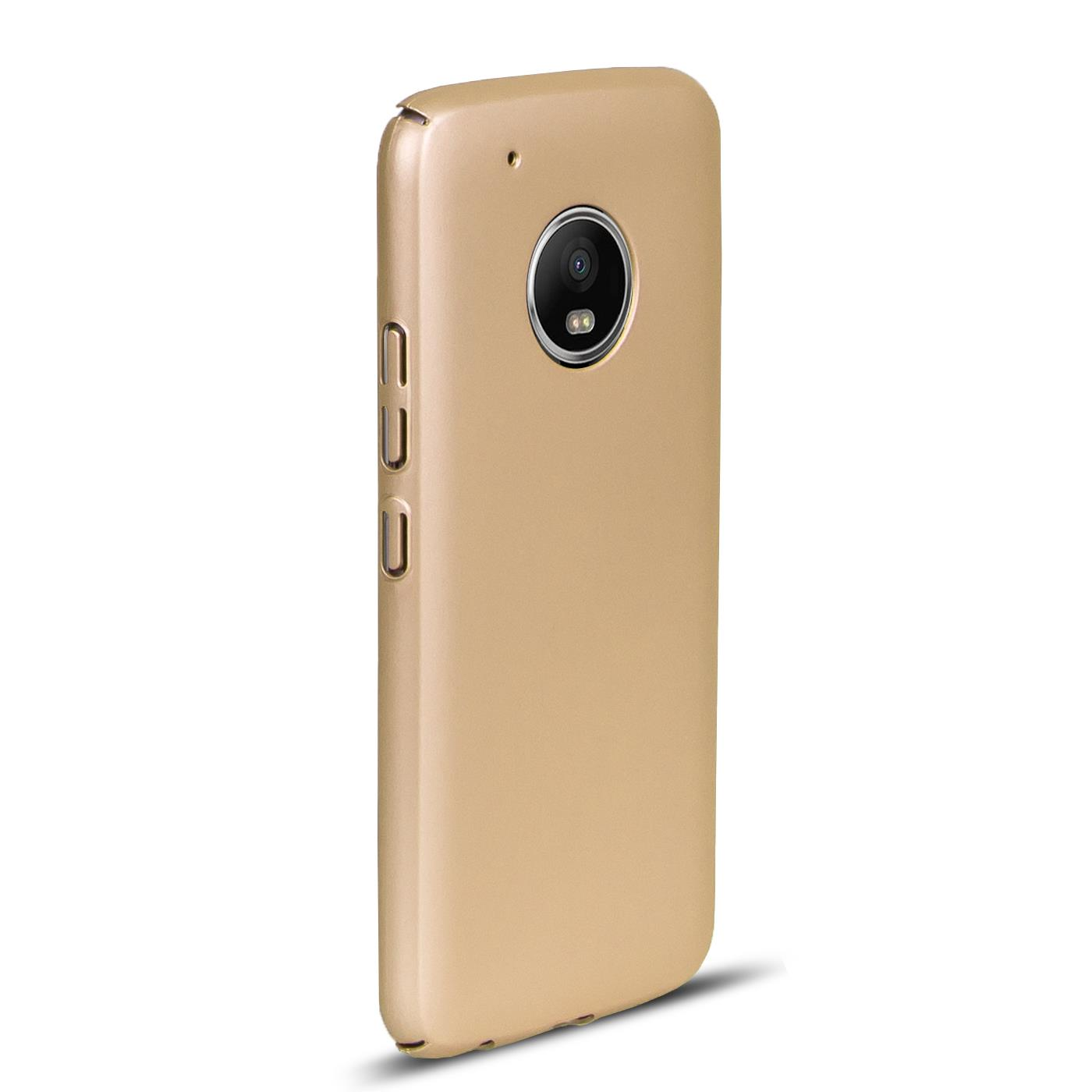Motorola-Lenovo-Moto-G5-Huelle-Hardcase-Case-Schutz-Cover-Slim-Tasche-Handyhuelle Indexbild 3