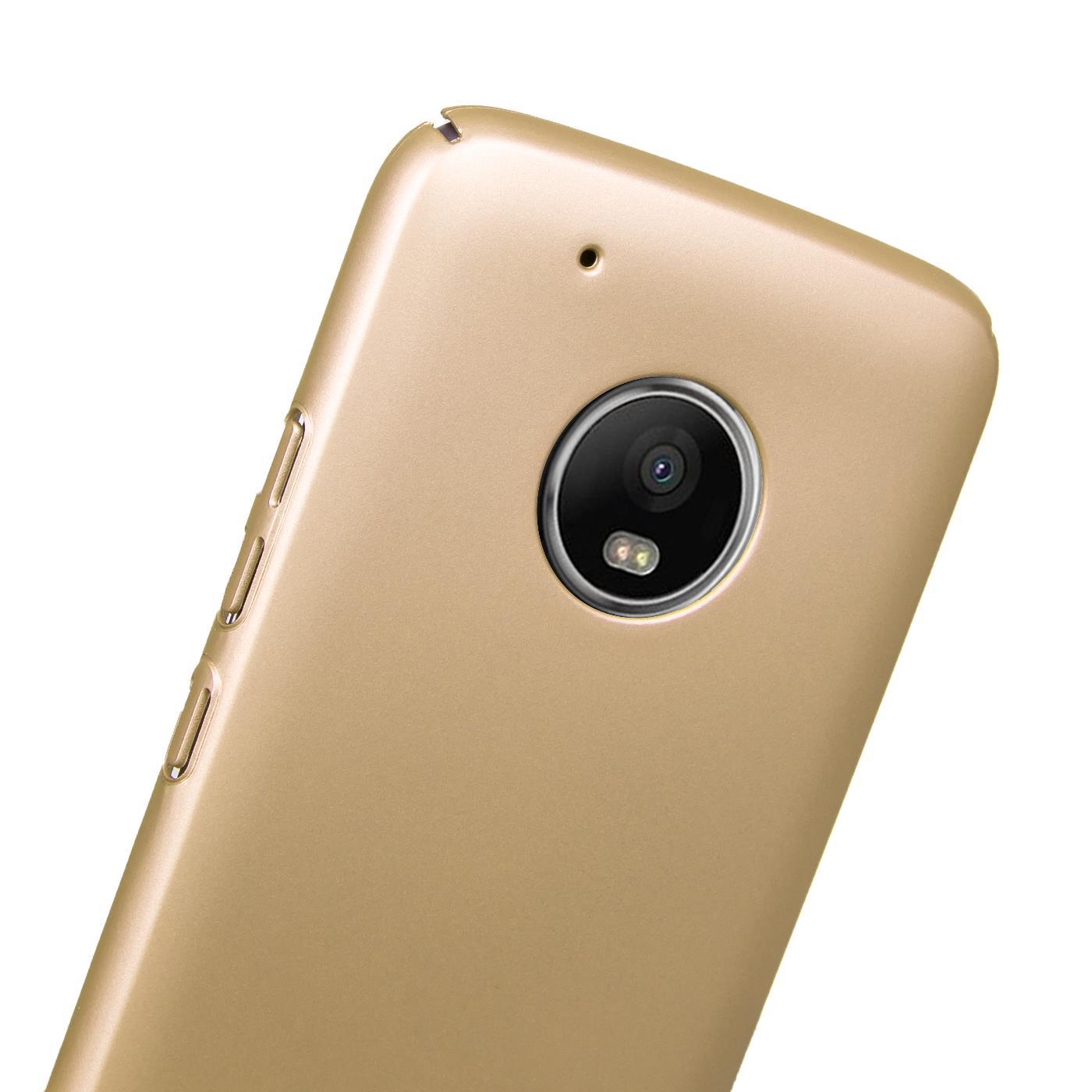 Motorola-Lenovo-Moto-G5-Huelle-Hardcase-Case-Schutz-Cover-Slim-Tasche-Handyhuelle Indexbild 5