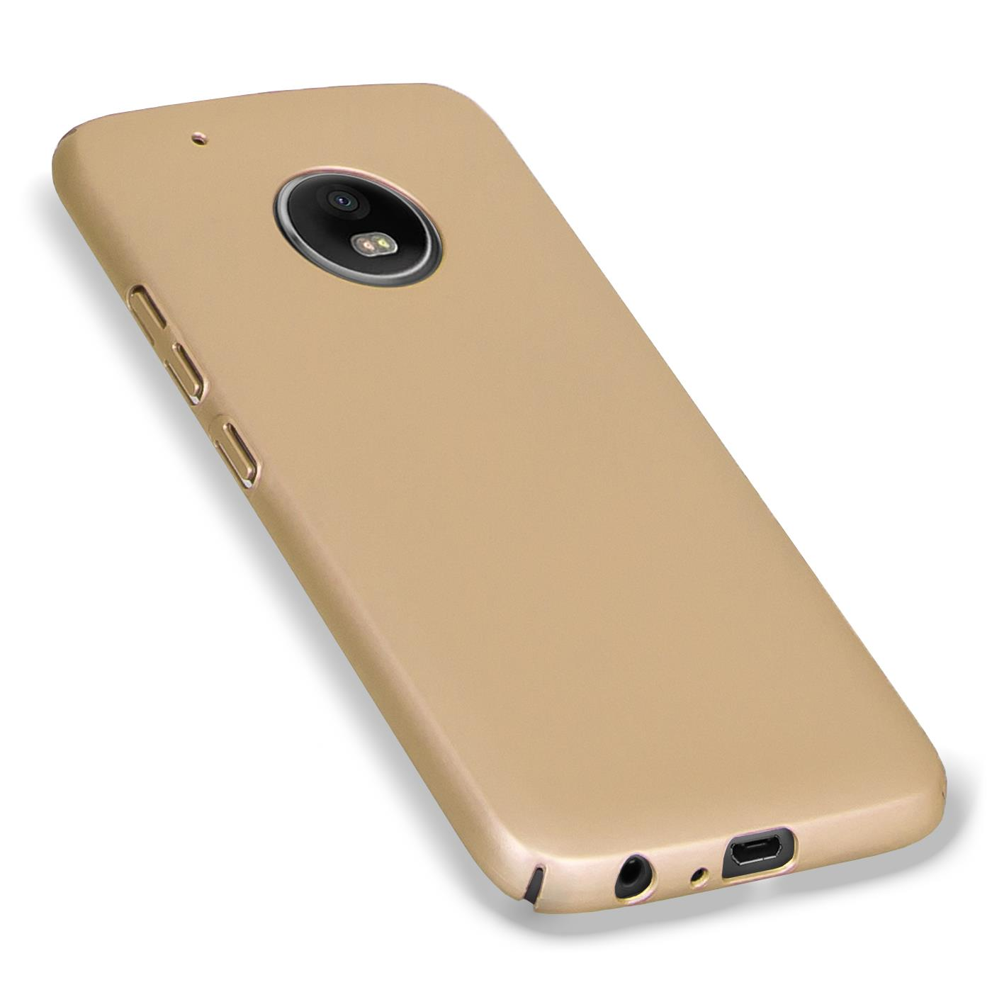 Motorola-Lenovo-Moto-G5-Huelle-Hardcase-Case-Schutz-Cover-Slim-Tasche-Handyhuelle Indexbild 6
