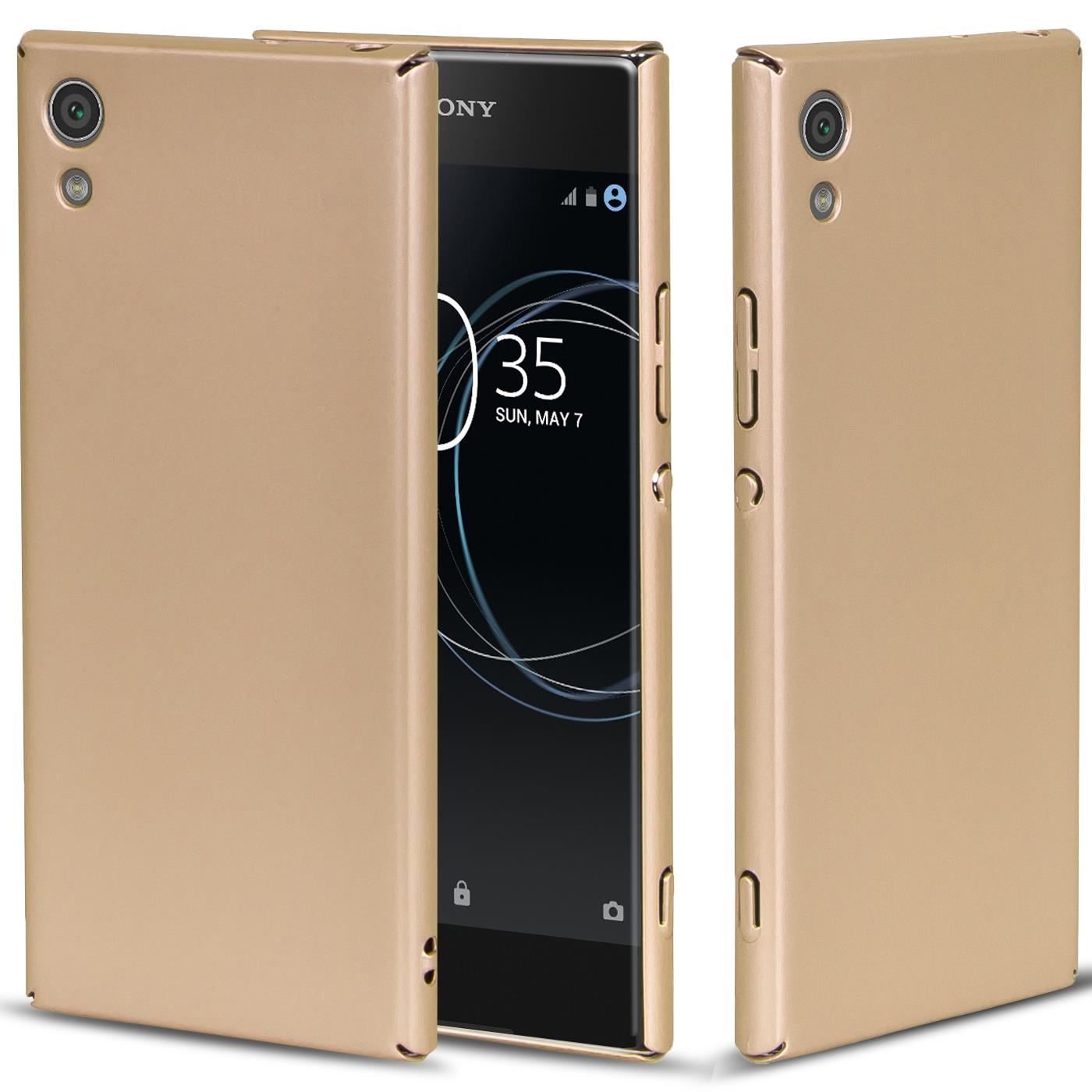Sony-Xperia-Huelle-Handy-Case-Hardcase-Schutz-Cover-Slim-Tasche-Flache-Handyhuelle
