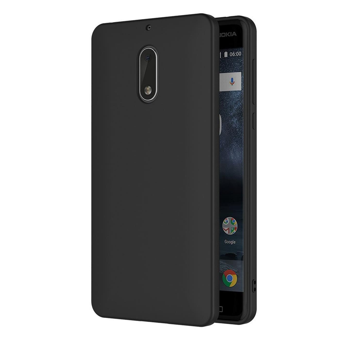 Handy-Huelle-fuer-Nokia-2-3-5-6-7-8-Case-Schutzhuelle-Silikon-Tasche-Duenn-Backcover