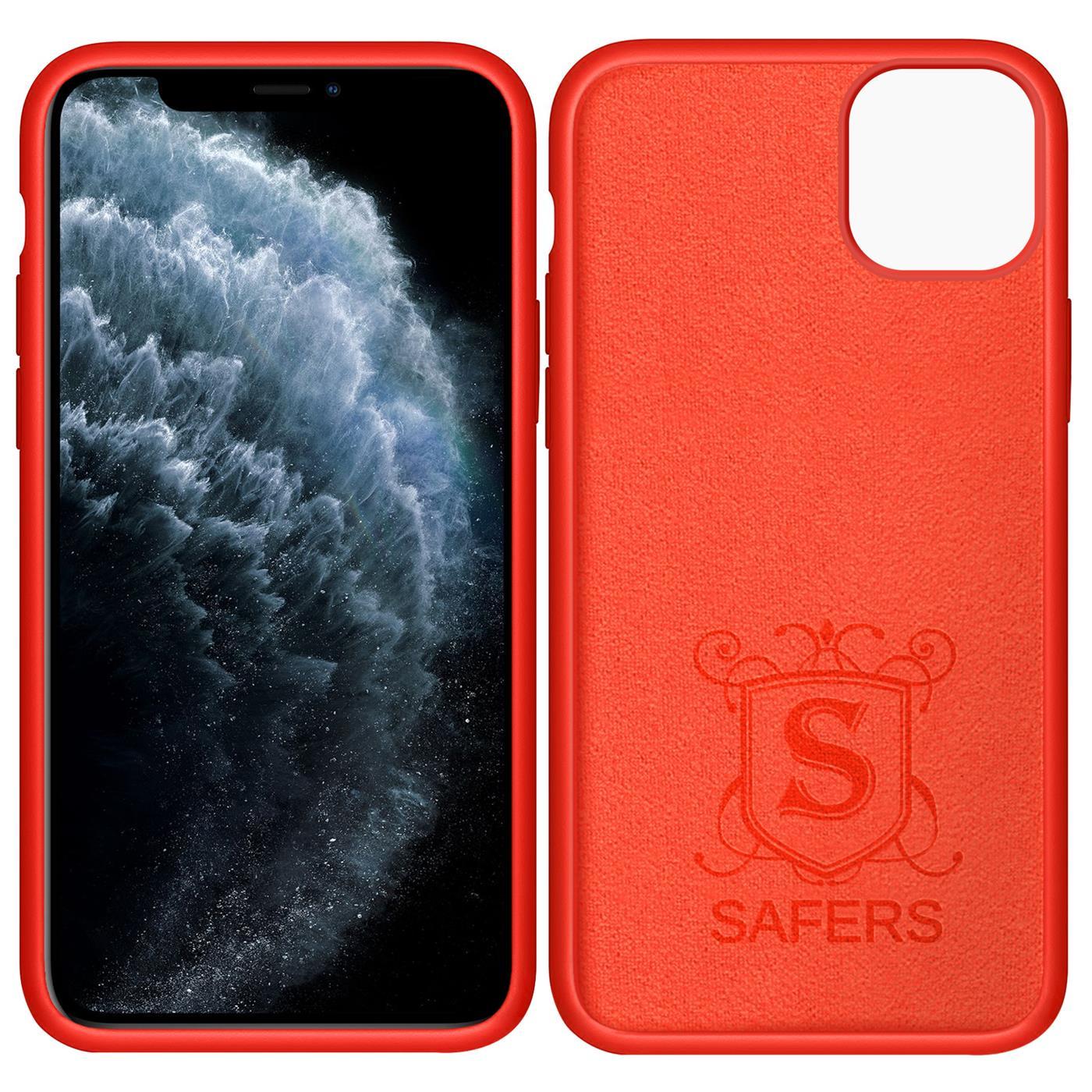 Silikon-Huelle-Schutzhuelle-Handy-Tasche-Handyhuelle-Slim-Case-Cover-Duenn-matt-Etui Indexbild 16