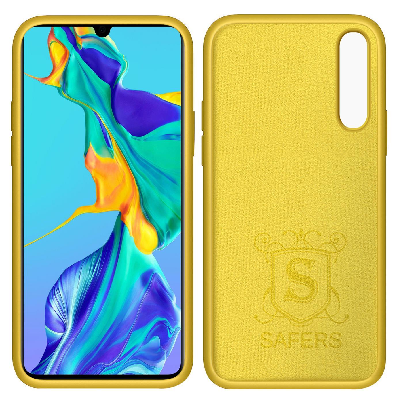 Huelle-Huawei-P30-Handy-Schutz-Cover-Silikon-Gel-Case-Handyhuelle-Tasche Indexbild 10
