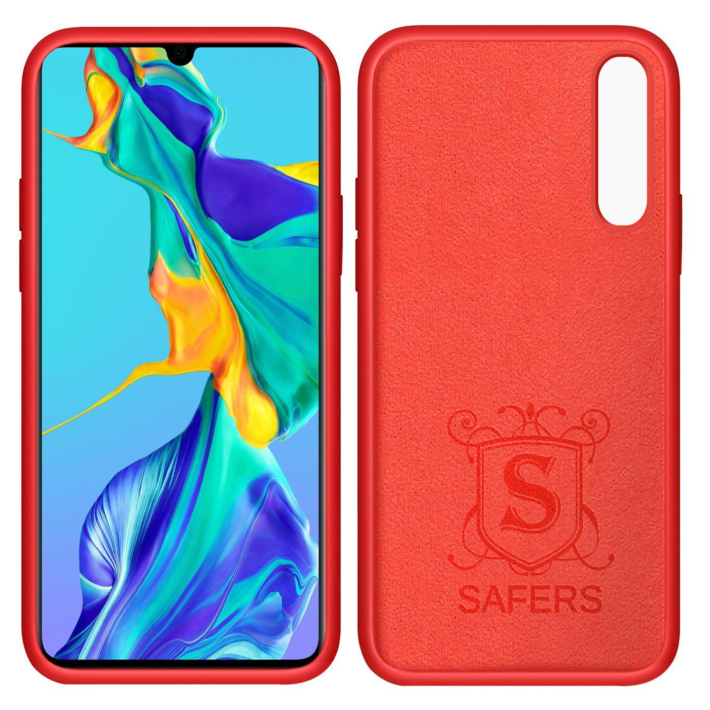 Huelle-Huawei-P30-Handy-Schutz-Cover-Silikon-Gel-Case-Handyhuelle-Tasche Indexbild 19