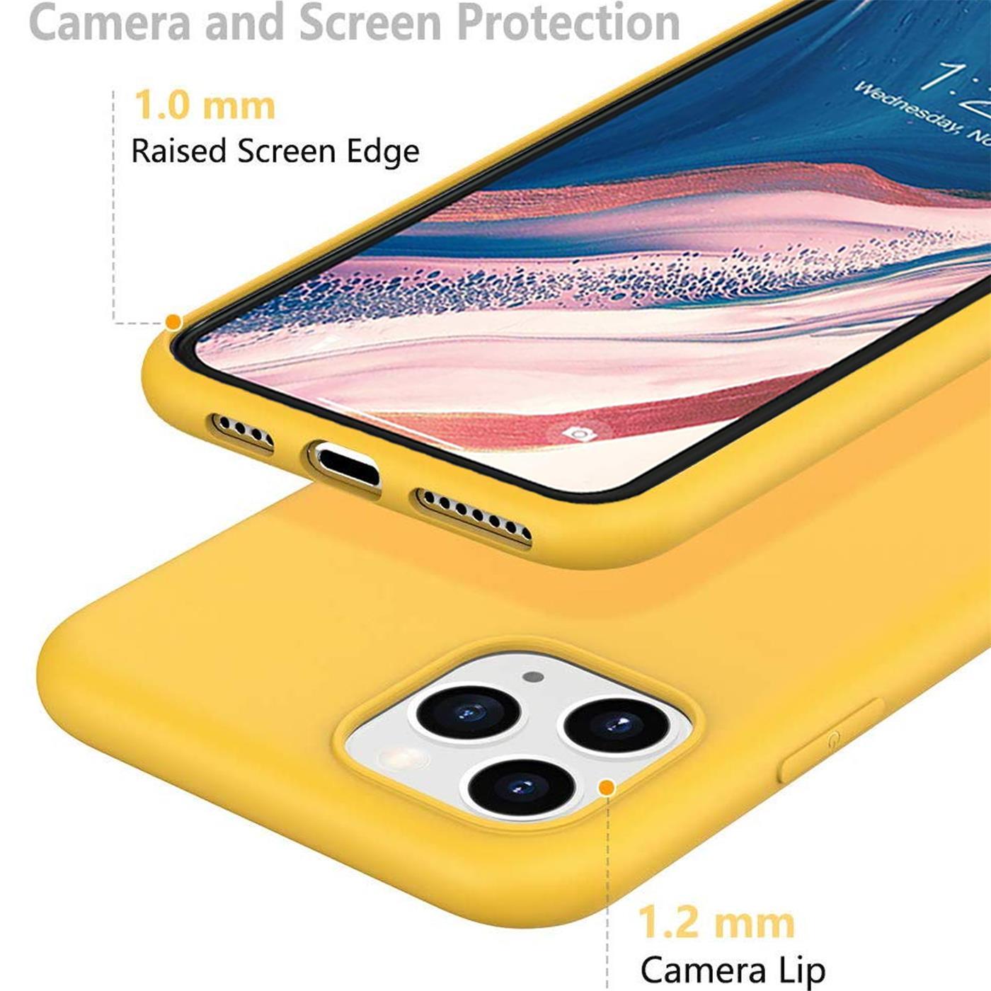 Silikon-Huelle-Schutzhuelle-Handy-Tasche-Handyhuelle-Slim-Case-Cover-Duenn-matt-Etui Indexbild 29