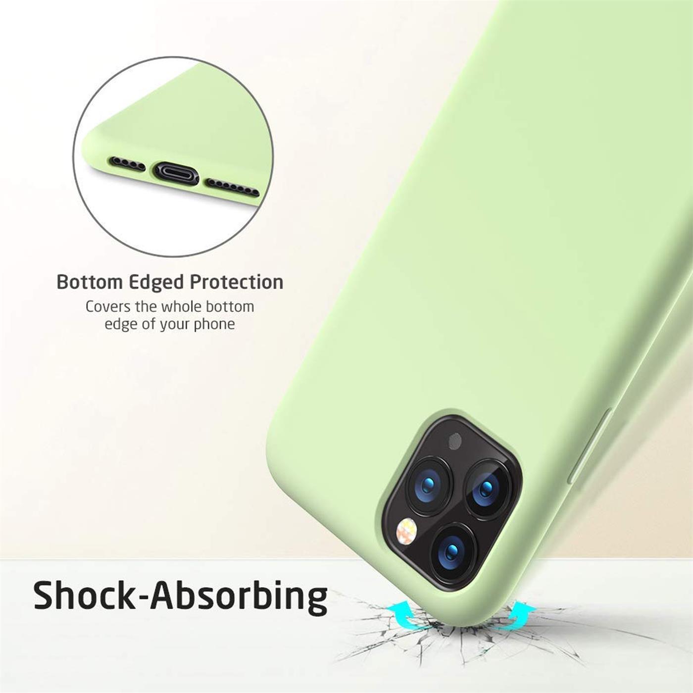 Silikon-Huelle-Schutzhuelle-Handy-Tasche-Handyhuelle-Slim-Case-Cover-Duenn-matt-Etui Indexbild 18