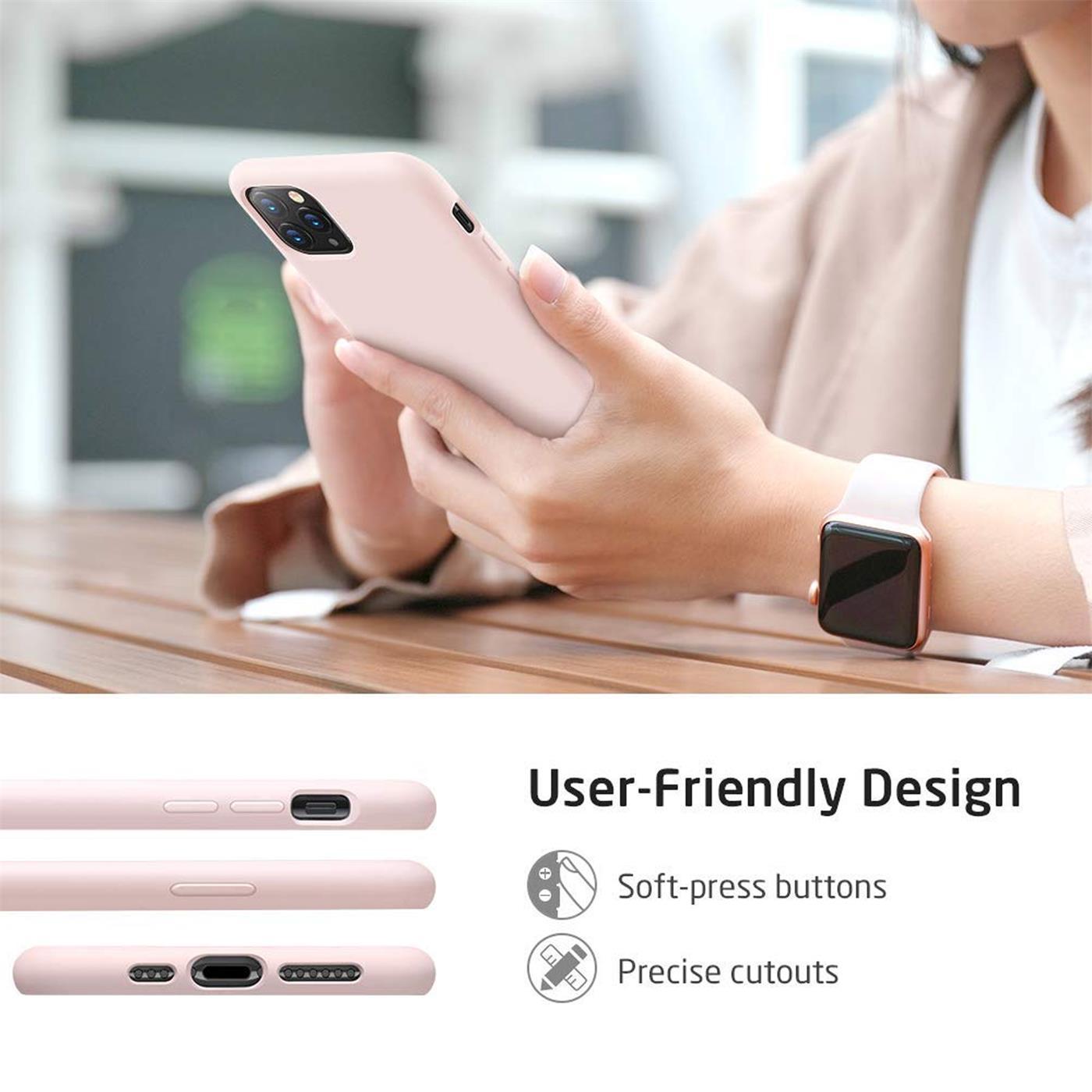 Silikon-Huelle-Schutzhuelle-Handy-Tasche-Handyhuelle-Slim-Case-Cover-Duenn-matt-Etui Indexbild 25