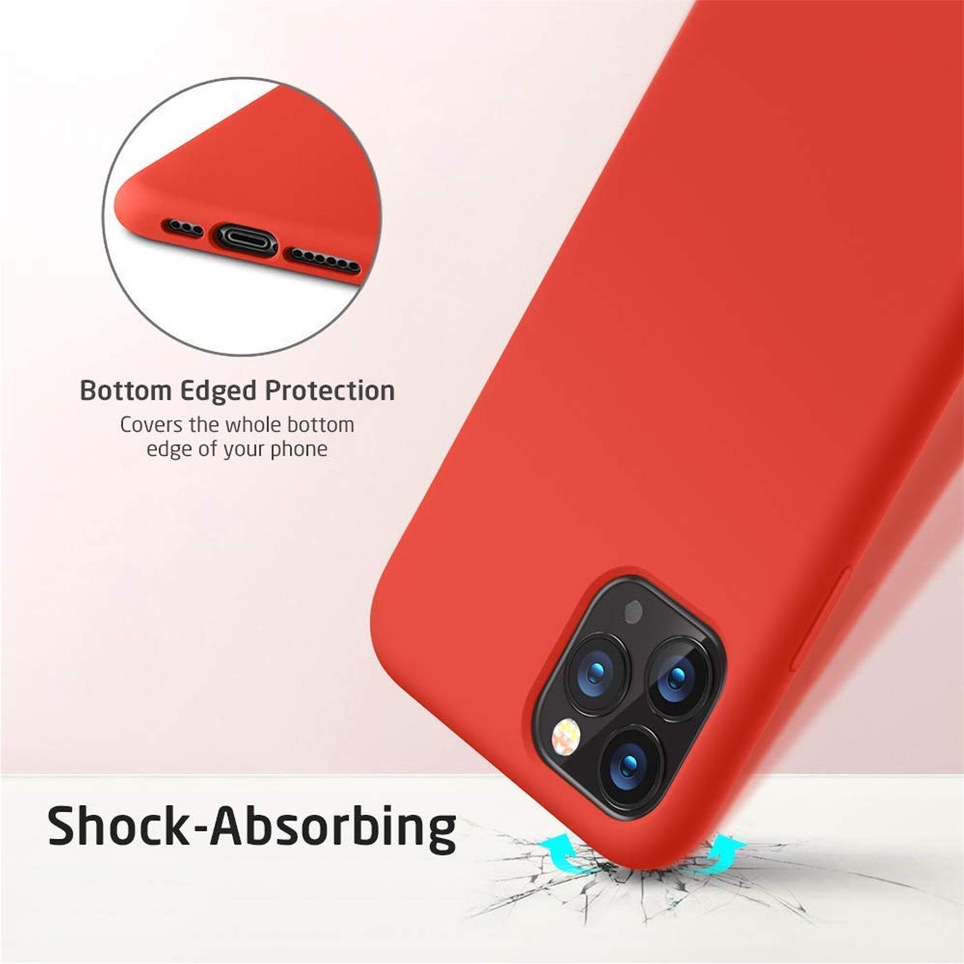 Silikon-Huelle-Schutzhuelle-Handy-Tasche-Handyhuelle-Slim-Case-Cover-Duenn-matt-Etui Indexbild 13