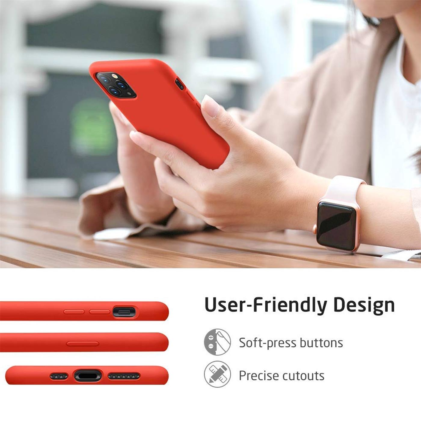 Silikon-Huelle-Schutzhuelle-Handy-Tasche-Handyhuelle-Slim-Case-Cover-Duenn-matt-Etui Indexbild 15