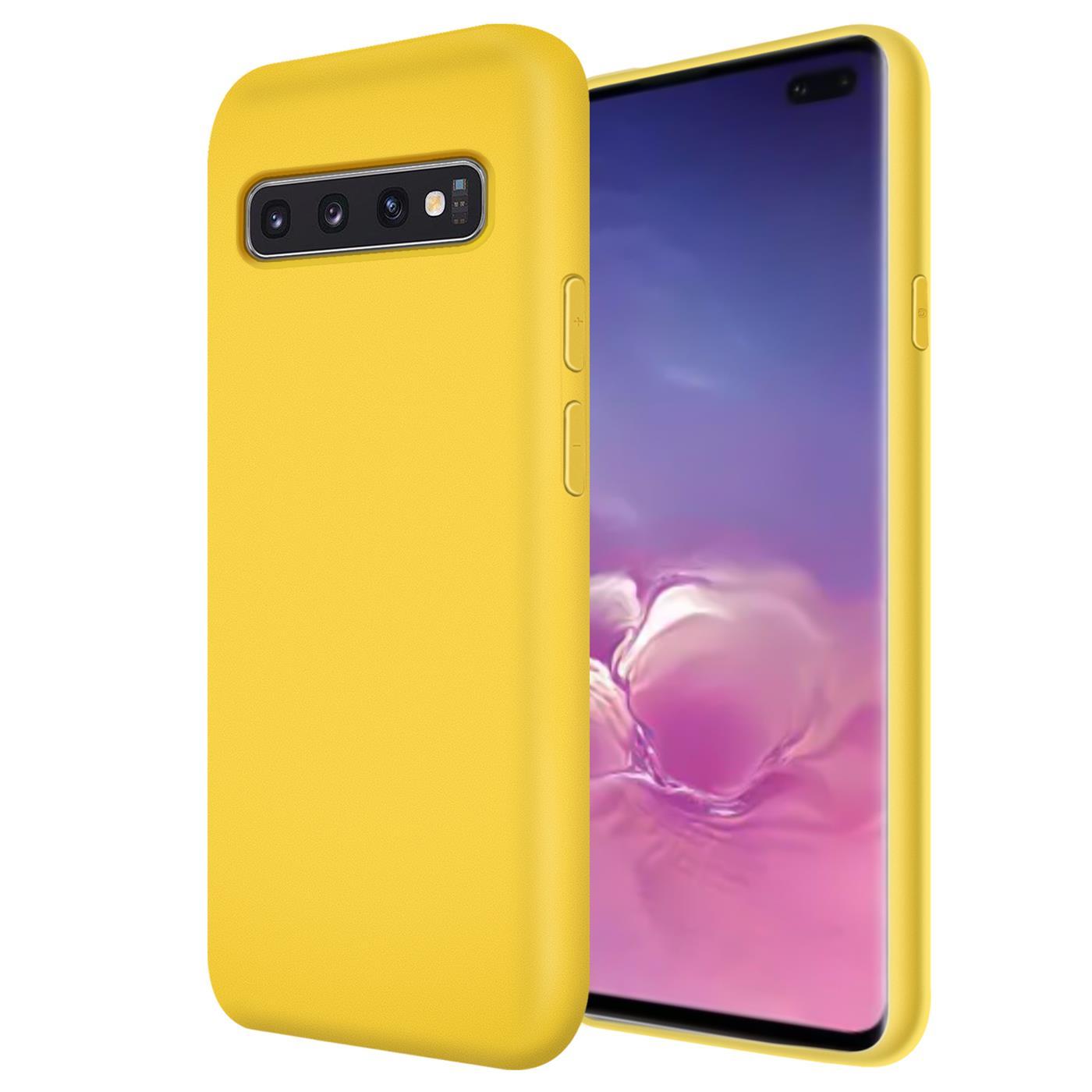 Huelle-Samsung-Galaxy-S10-Handy-Schutz-Cover-Silikon-Gel-Case-Handyhuelle-Tasche Indexbild 9