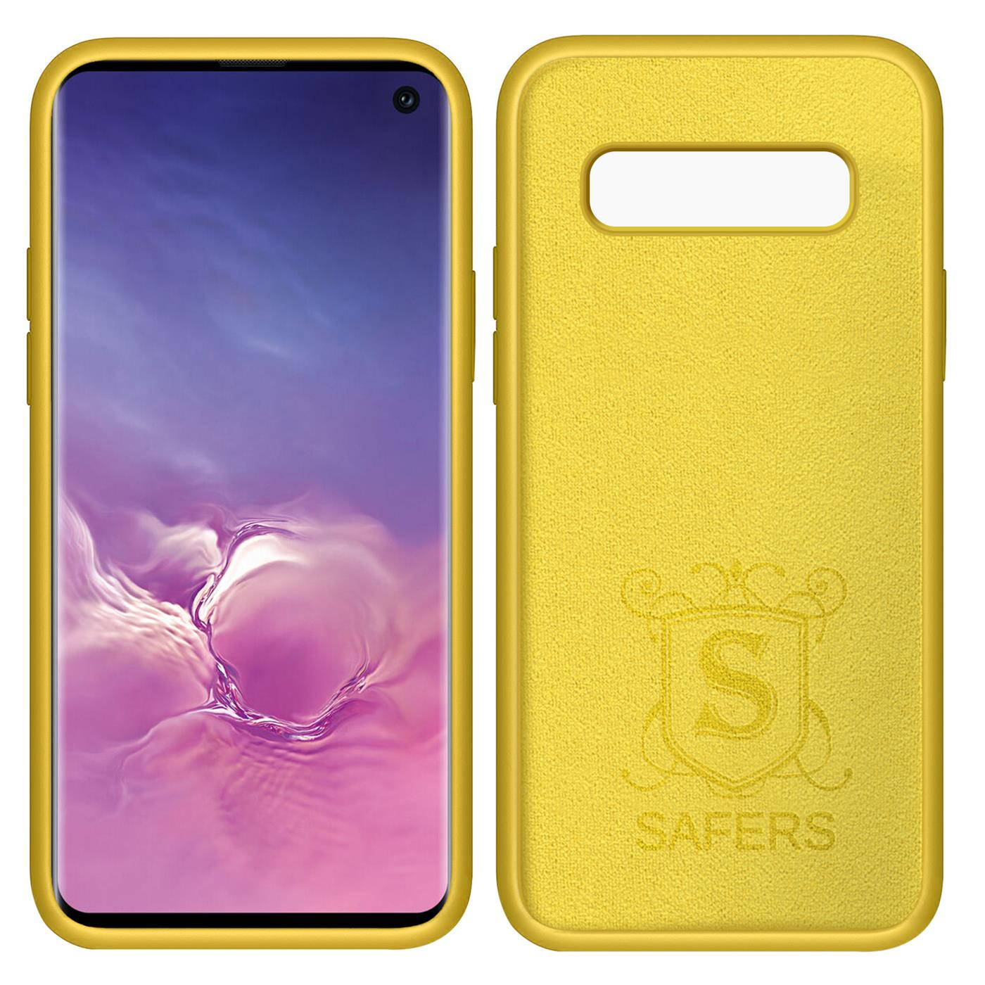 Huelle-Samsung-Galaxy-S10-Handy-Schutz-Cover-Silikon-Gel-Case-Handyhuelle-Tasche Indexbild 10