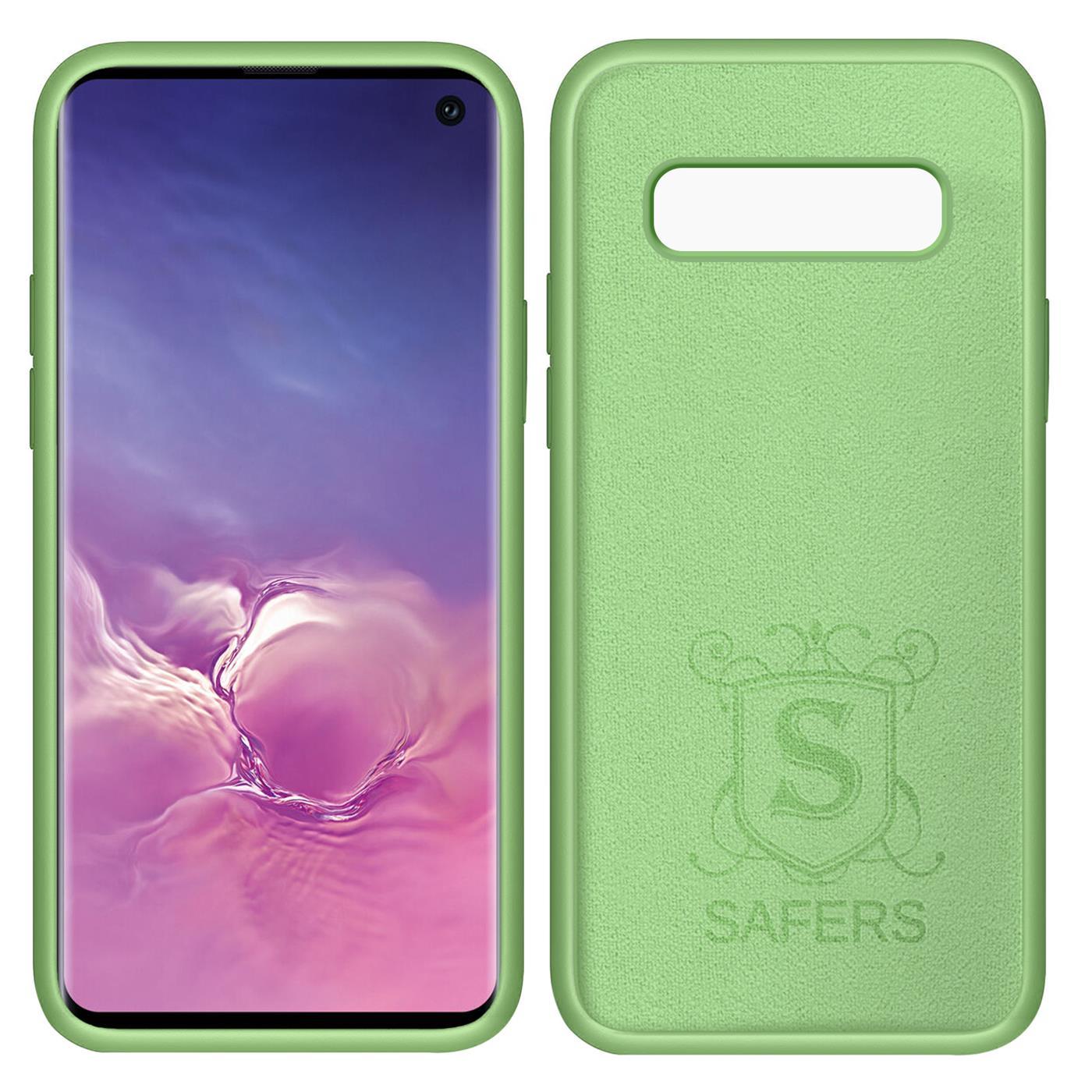 Huelle-Samsung-Galaxy-S10-Handy-Schutz-Cover-Silikon-Gel-Case-Handyhuelle-Tasche Indexbild 13