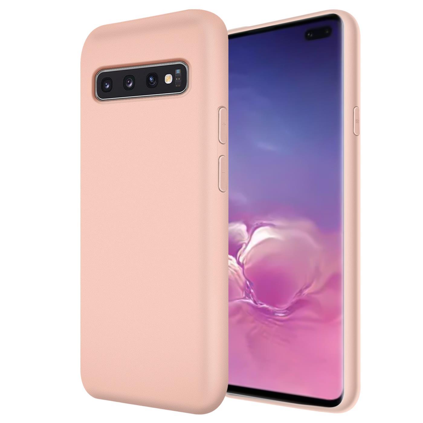 Huelle-Samsung-Galaxy-S10-Handy-Schutz-Cover-Silikon-Gel-Case-Handyhuelle-Tasche Indexbild 15