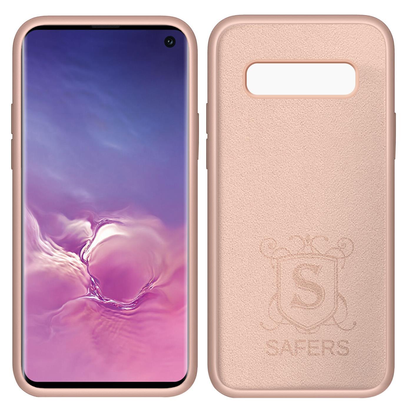 Huelle-Samsung-Galaxy-S10-Handy-Schutz-Cover-Silikon-Gel-Case-Handyhuelle-Tasche Indexbild 16