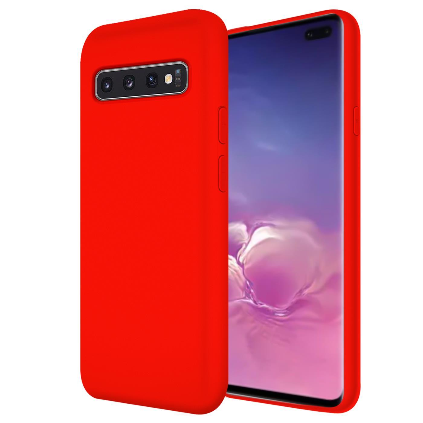 Huelle-Samsung-Galaxy-S10-Handy-Schutz-Cover-Silikon-Gel-Case-Handyhuelle-Tasche Indexbild 18