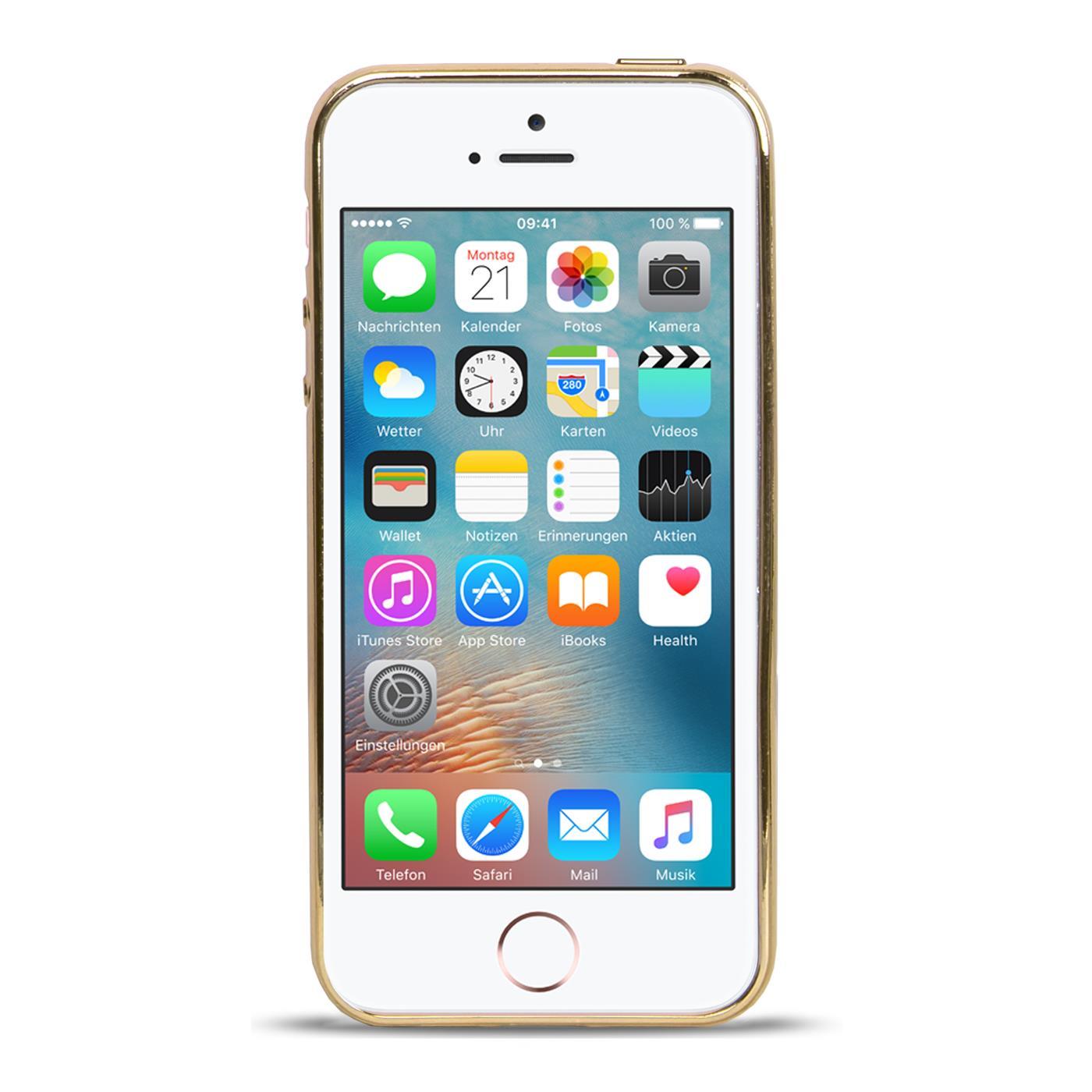 handy tasche apple iphone 5 s se h lle silikon case cover. Black Bedroom Furniture Sets. Home Design Ideas