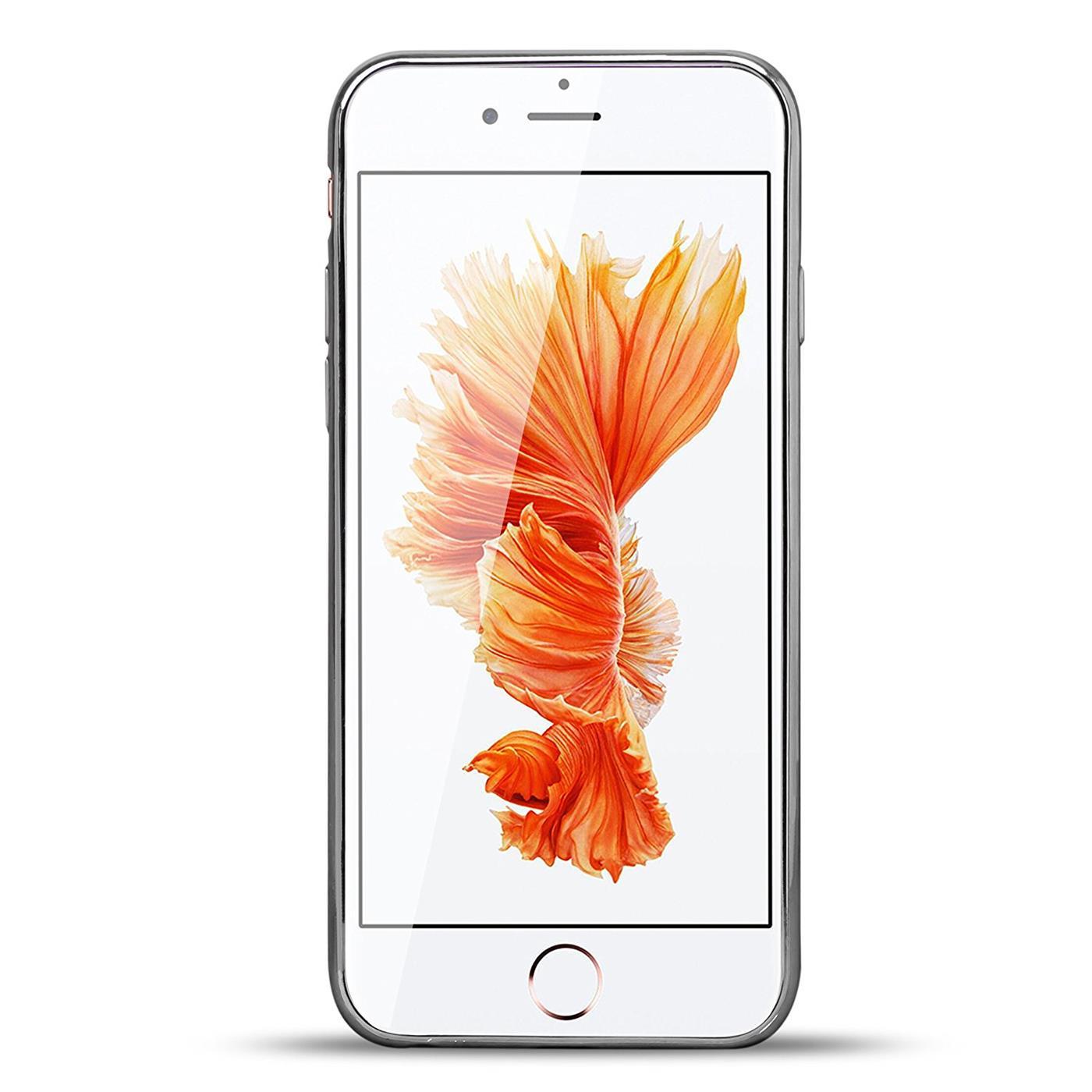 Handy-Etui-Apple-iPhone-6-6S-Plus-Huelle-Glitzer-Silikon-Case-Schutz-Cover-Tasche