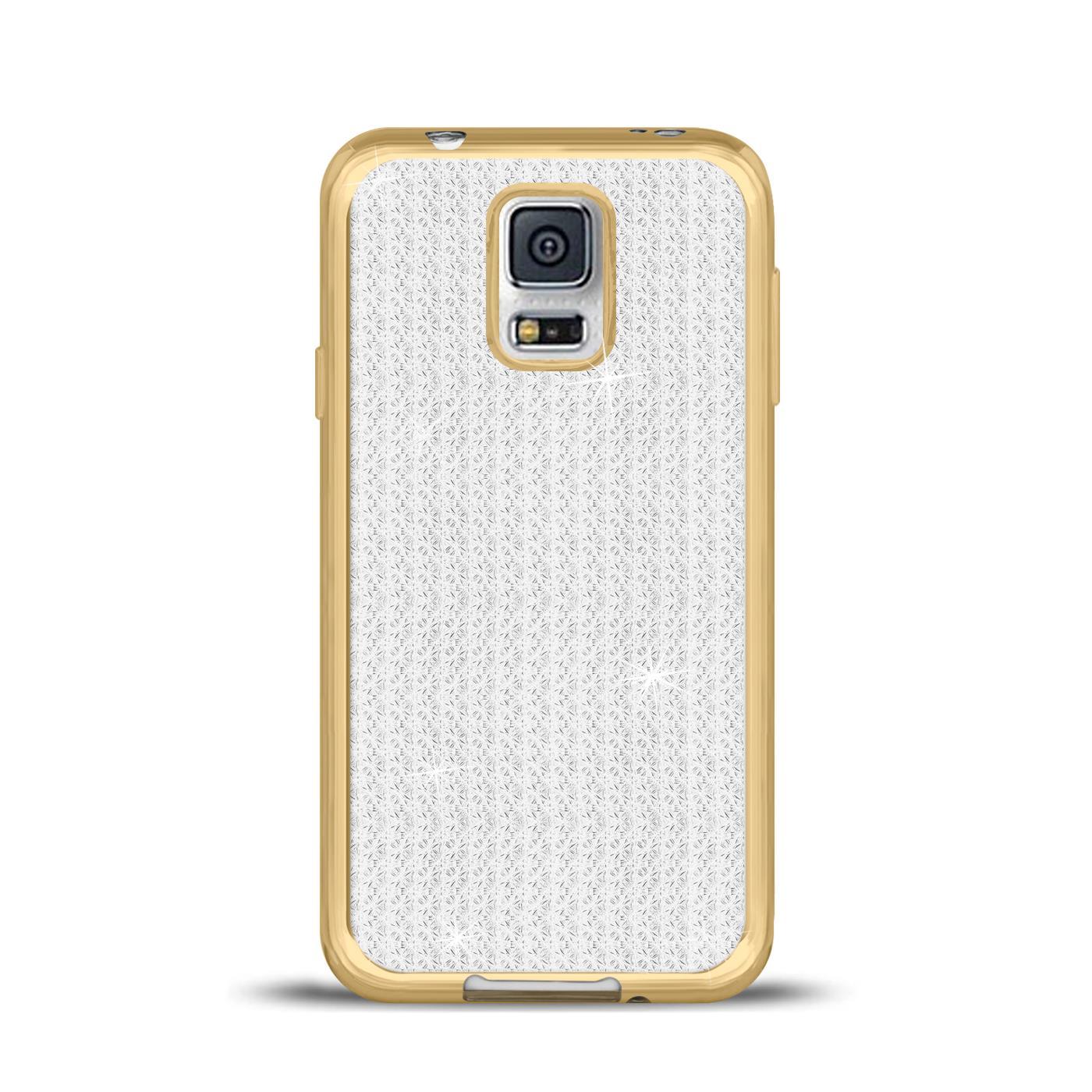miniatura 3 - Funda para Móvil samsung Galaxy S5 Neo Protectora de Silicona Brillantina