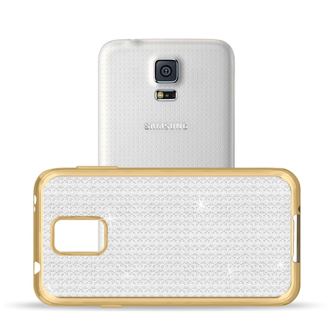 miniatura 4 - Funda para Móvil samsung Galaxy S5 Neo Protectora de Silicona Brillantina