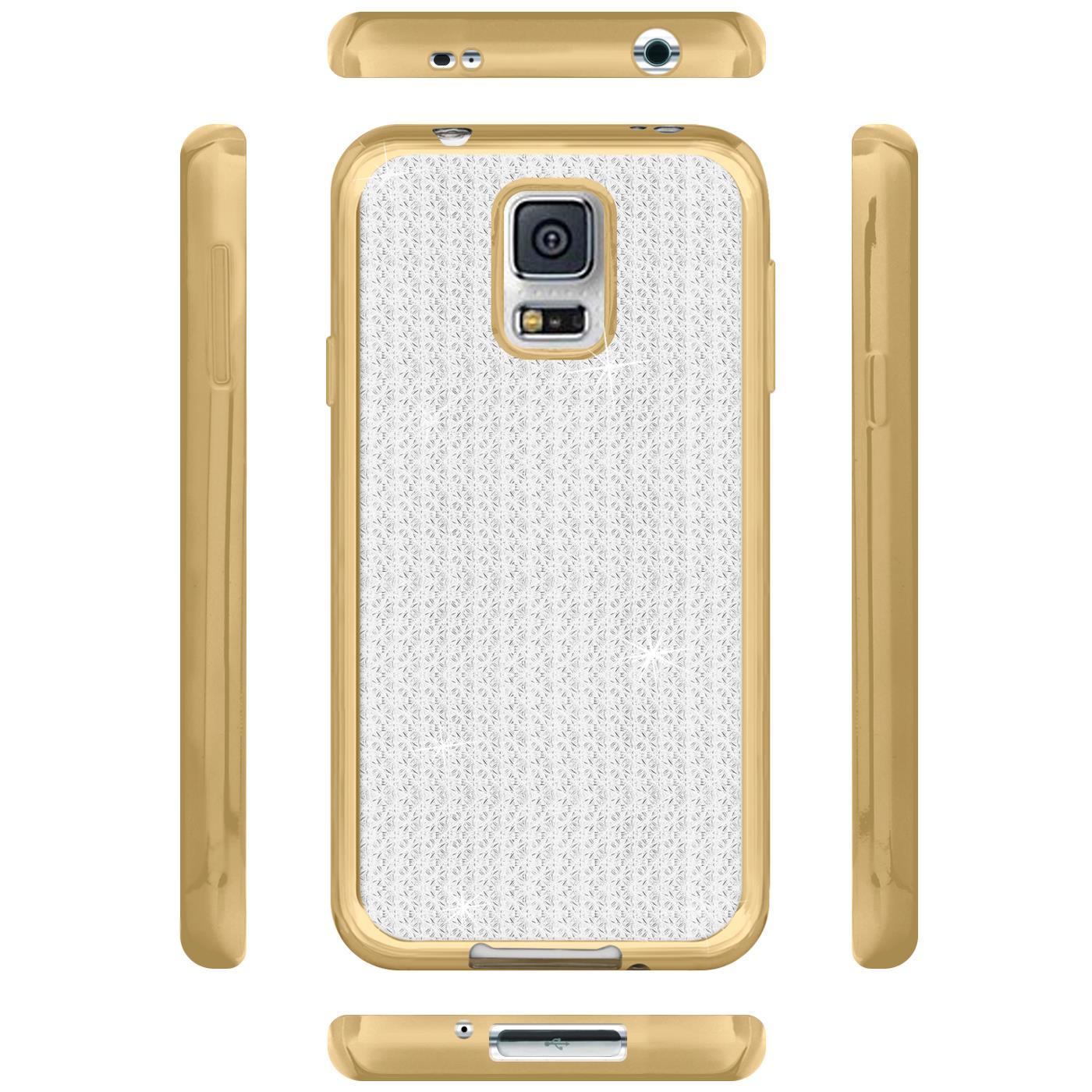 miniatura 5 - Funda para Móvil samsung Galaxy S5 Neo Protectora de Silicona Brillantina