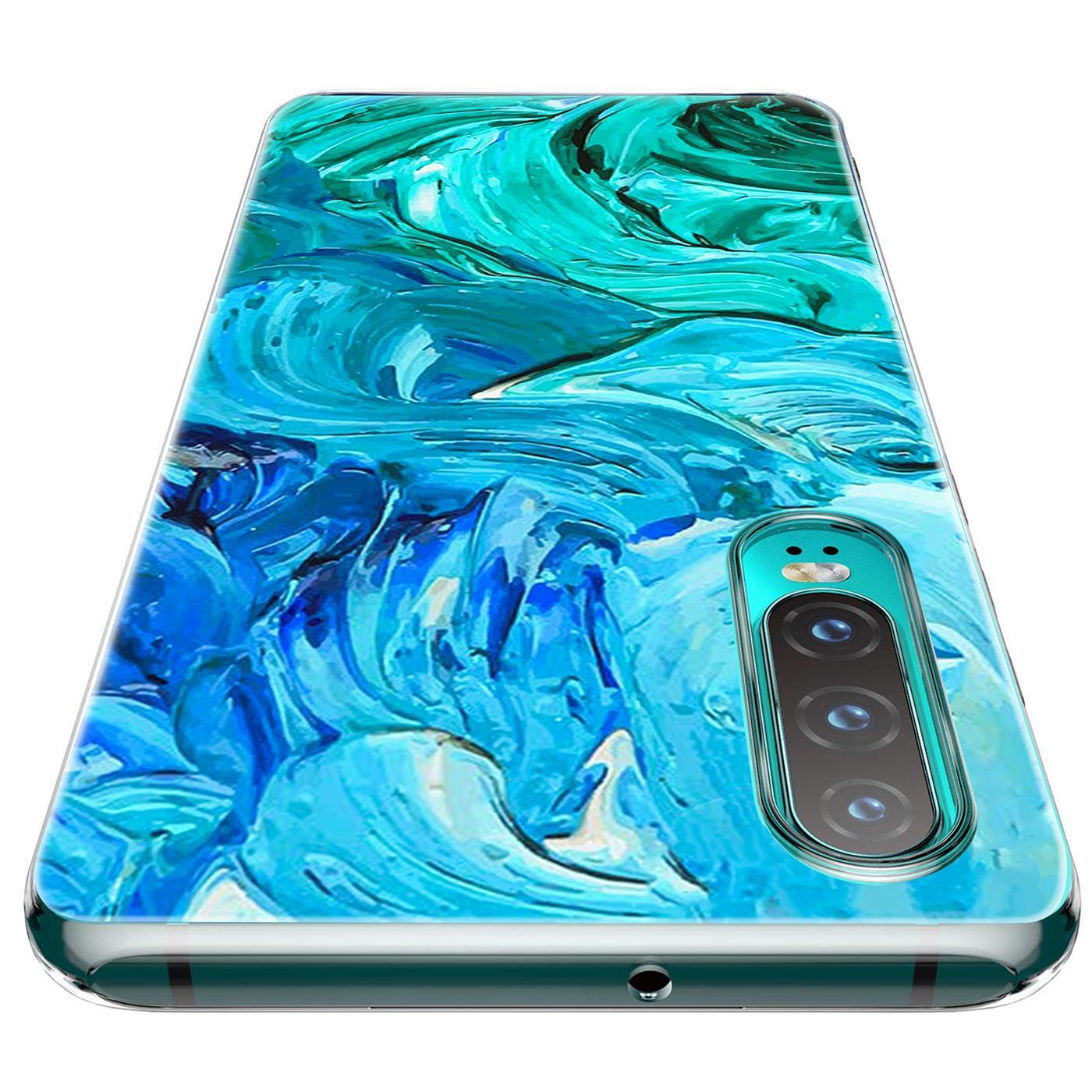 Huawei-P30-Lite-Motiv-Handy-Huelle-Silikon-Tasche-Schutzhuelle-Cover-Slim-TPU-Case Indexbild 12