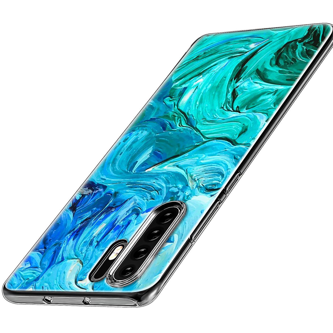Huawei-P30-Lite-Motiv-Handy-Huelle-Silikon-Tasche-Schutzhuelle-Cover-Slim-TPU-Case Indexbild 13