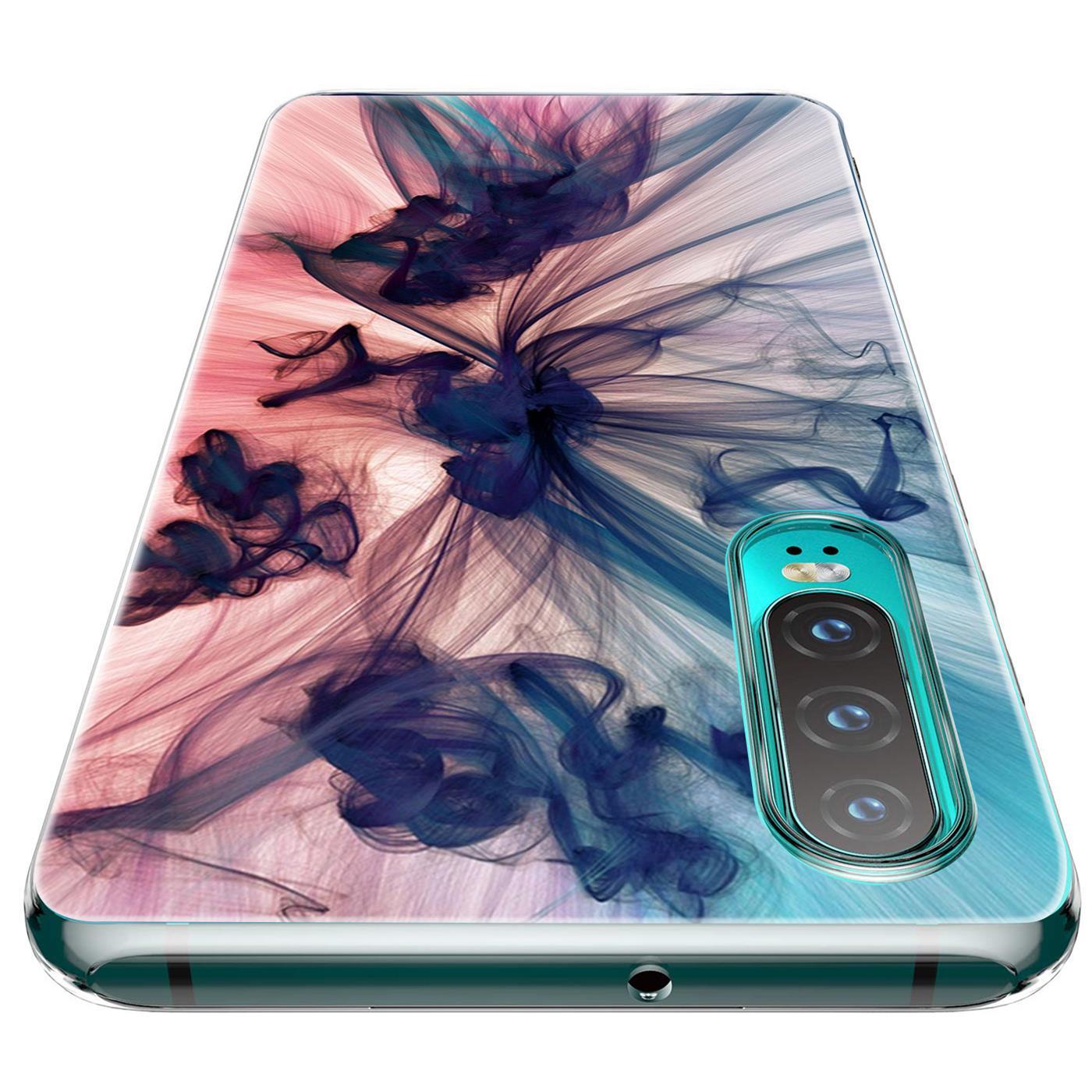 Huawei-P30-Lite-Motiv-Handy-Huelle-Silikon-Tasche-Schutzhuelle-Cover-Slim-TPU-Case Indexbild 16