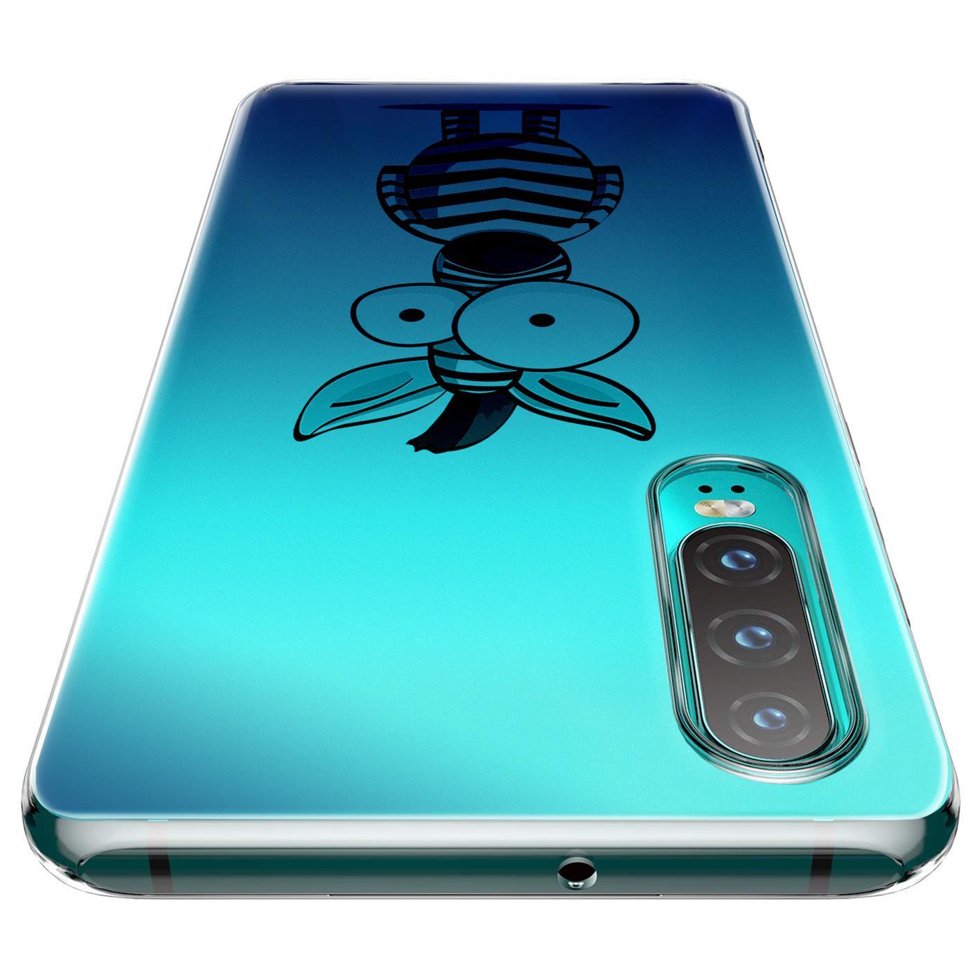 Huawei-P30-Lite-Motiv-Handy-Huelle-Silikon-Tasche-Schutzhuelle-Cover-Slim-TPU-Case Indexbild 20