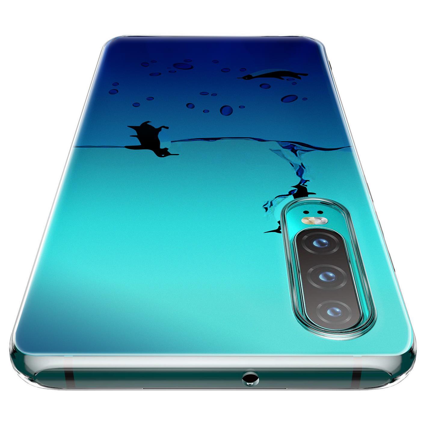 Huawei-P30-Lite-Motiv-Handy-Huelle-Silikon-Tasche-Schutzhuelle-Cover-Slim-TPU-Case Indexbild 24