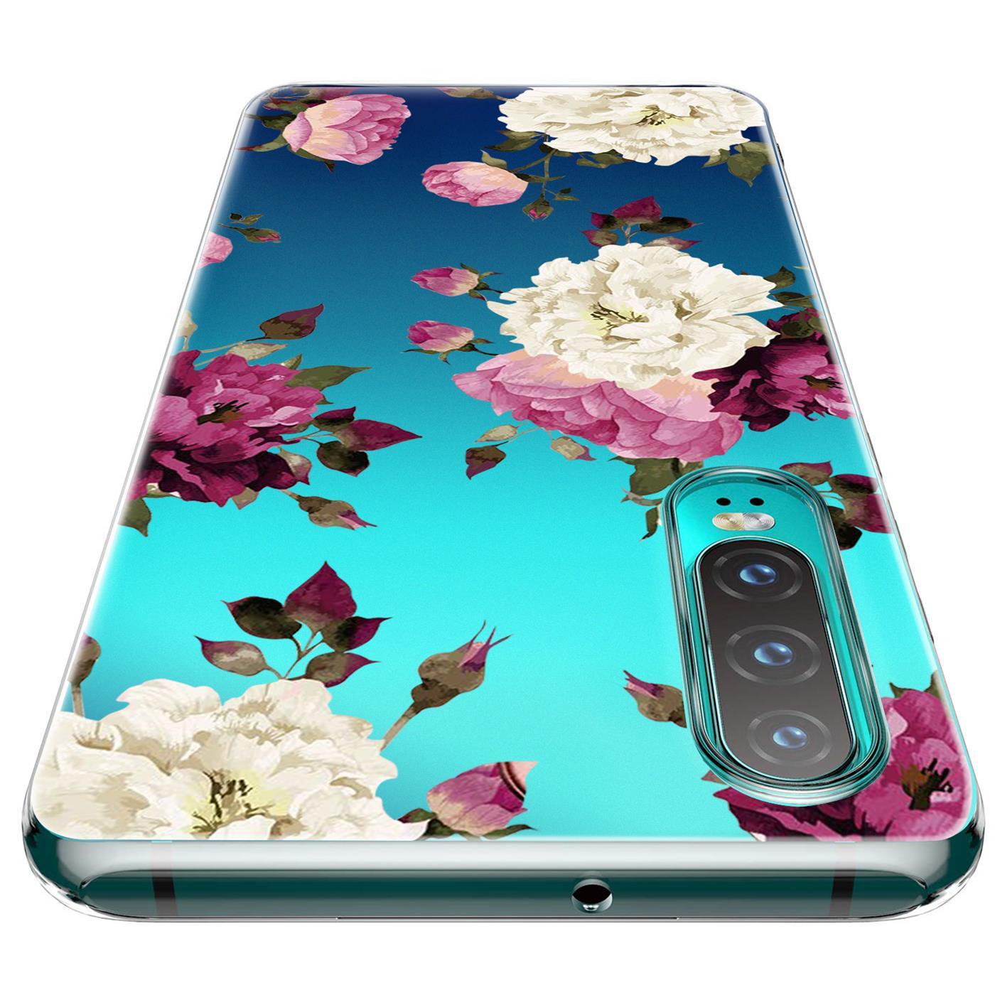 Huawei-P30-Lite-Motiv-Handy-Huelle-Silikon-Tasche-Schutzhuelle-Cover-Slim-TPU-Case Indexbild 32