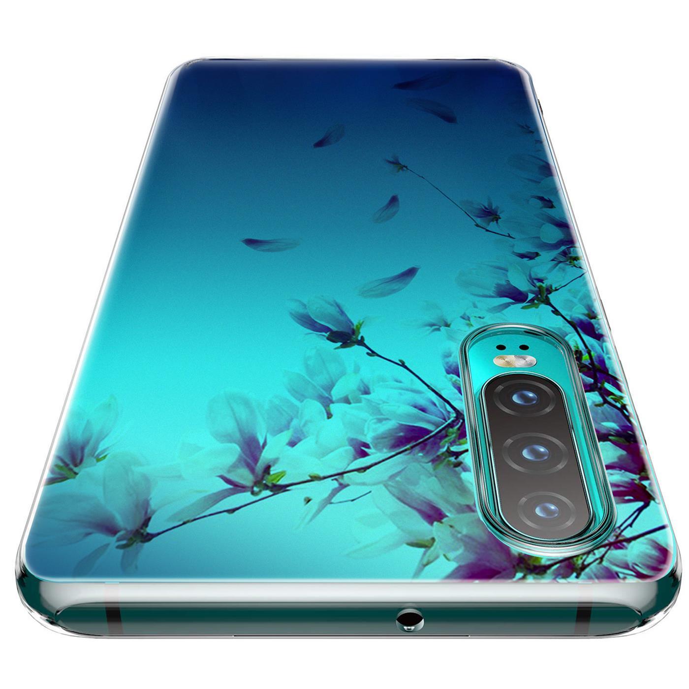 Huawei-P30-Lite-Motiv-Handy-Huelle-Silikon-Tasche-Schutzhuelle-Cover-Slim-TPU-Case Indexbild 36
