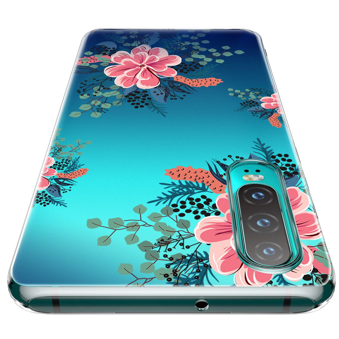 Huawei-P30-Lite-Motiv-Handy-Huelle-Silikon-Tasche-Schutzhuelle-Cover-Slim-TPU-Case Indexbild 40