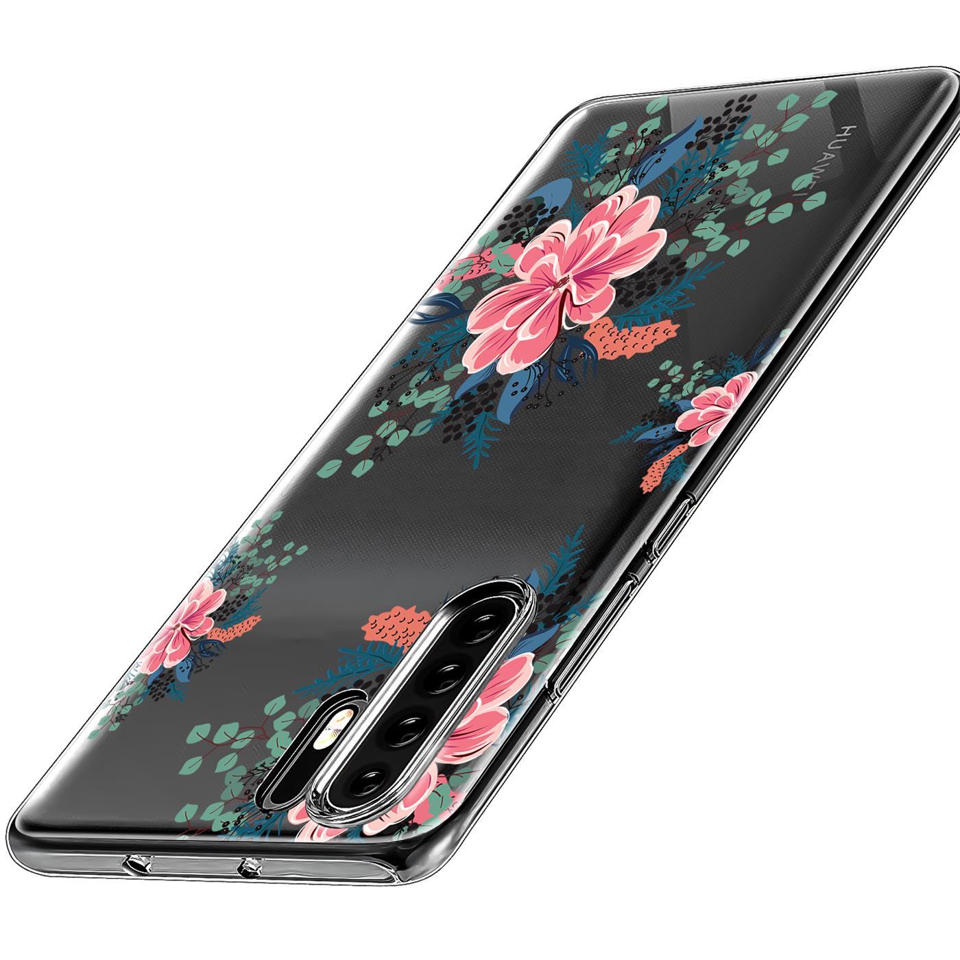 Huawei-P30-Lite-Motiv-Handy-Huelle-Silikon-Tasche-Schutzhuelle-Cover-Slim-TPU-Case Indexbild 41