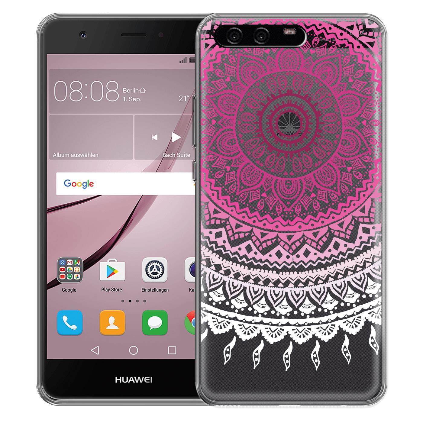 Handy-Schutz-Huelle-fuer-Huawei-Case-TPU-Silikon-Cover-Handyhuelle-Tasche