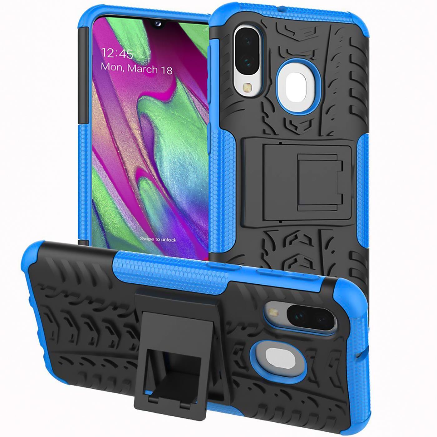 Schutzhuelle-Samsung-Galaxy-A20e-Handy-Tasche-Schutz-Huelle-Hybrid-Panzer-Case Indexbild 8
