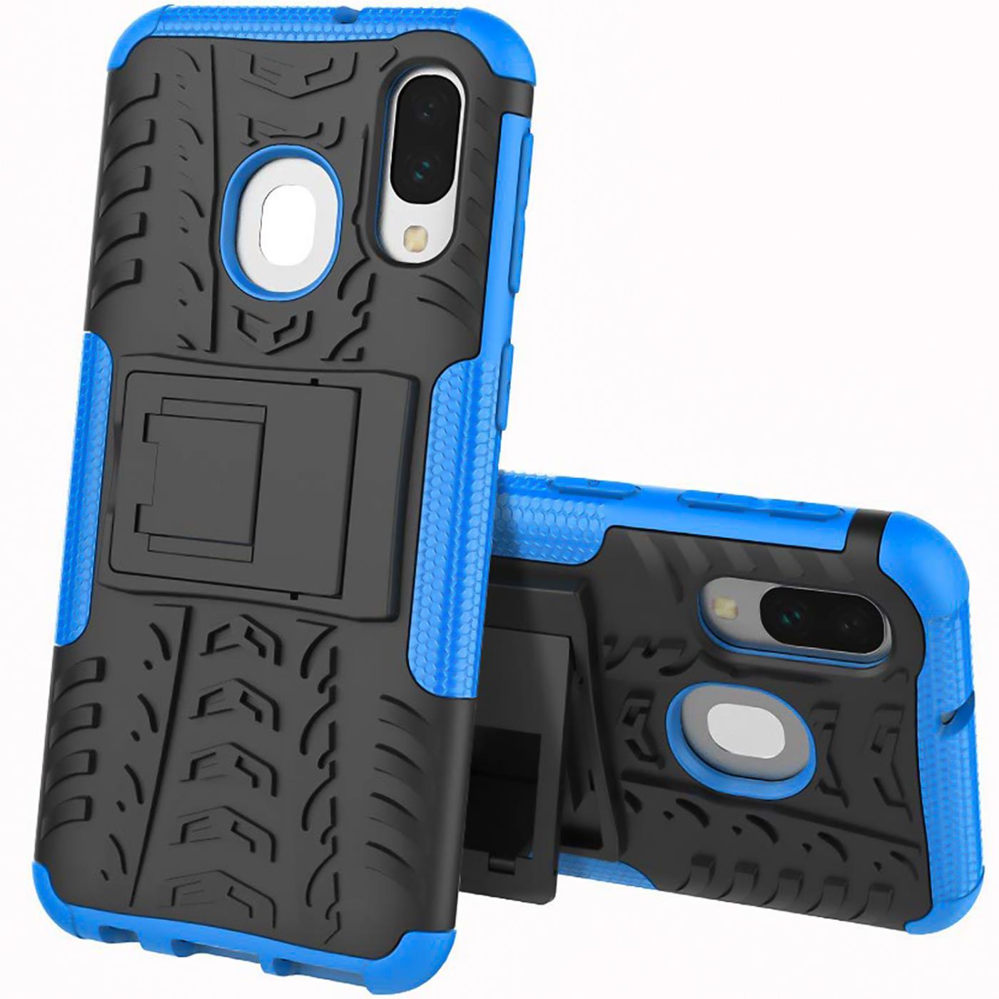 Schutzhuelle-Samsung-Galaxy-A20e-Handy-Tasche-Schutz-Huelle-Hybrid-Panzer-Case Indexbild 9