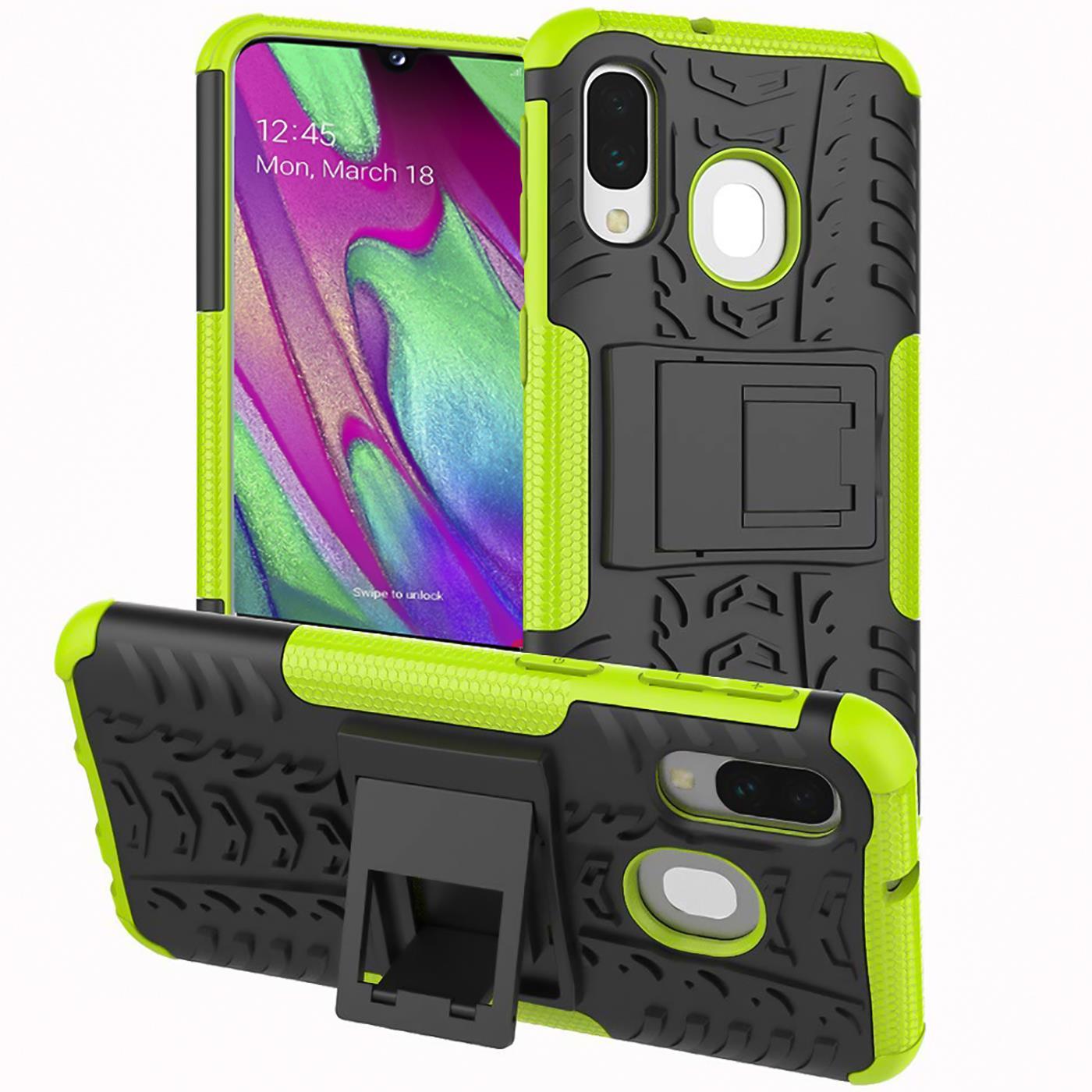 Schutzhuelle-Samsung-Galaxy-A20e-Handy-Tasche-Schutz-Huelle-Hybrid-Panzer-Case Indexbild 12