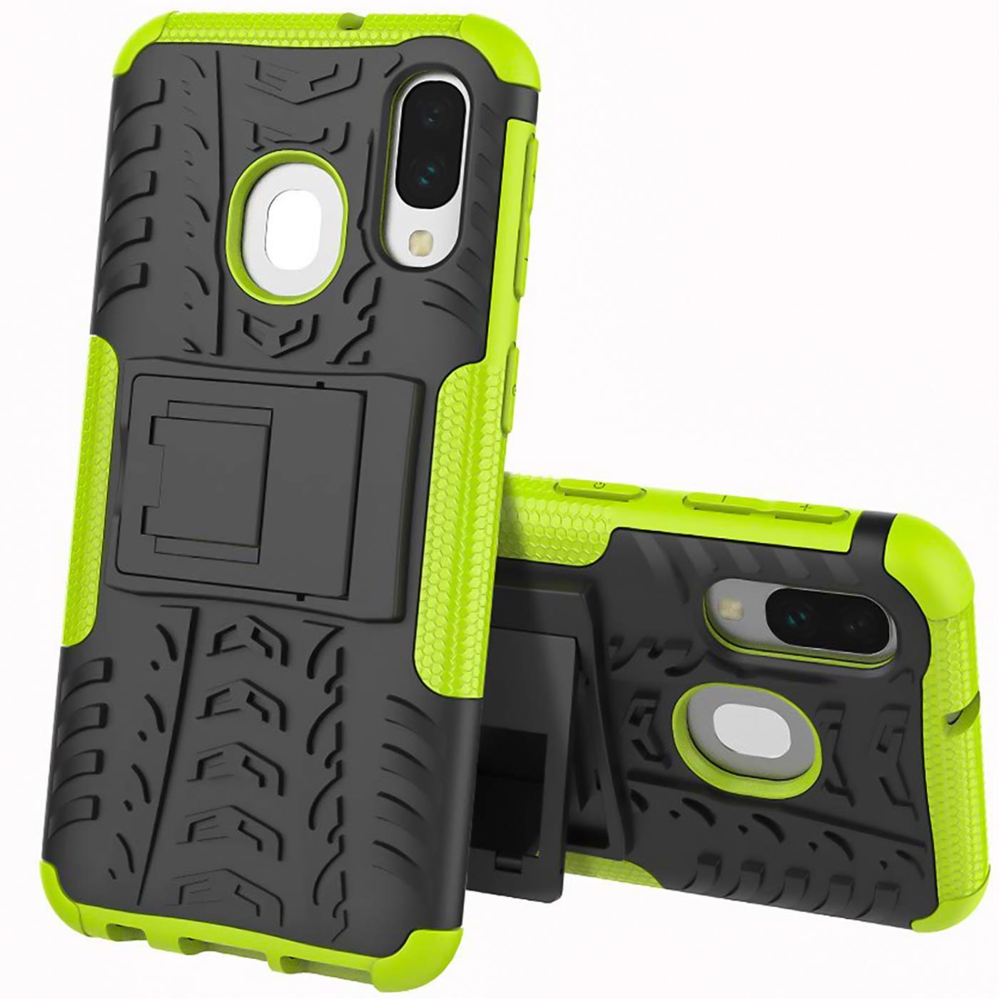 Schutzhuelle-Samsung-Galaxy-A20e-Handy-Tasche-Schutz-Huelle-Hybrid-Panzer-Case Indexbild 13