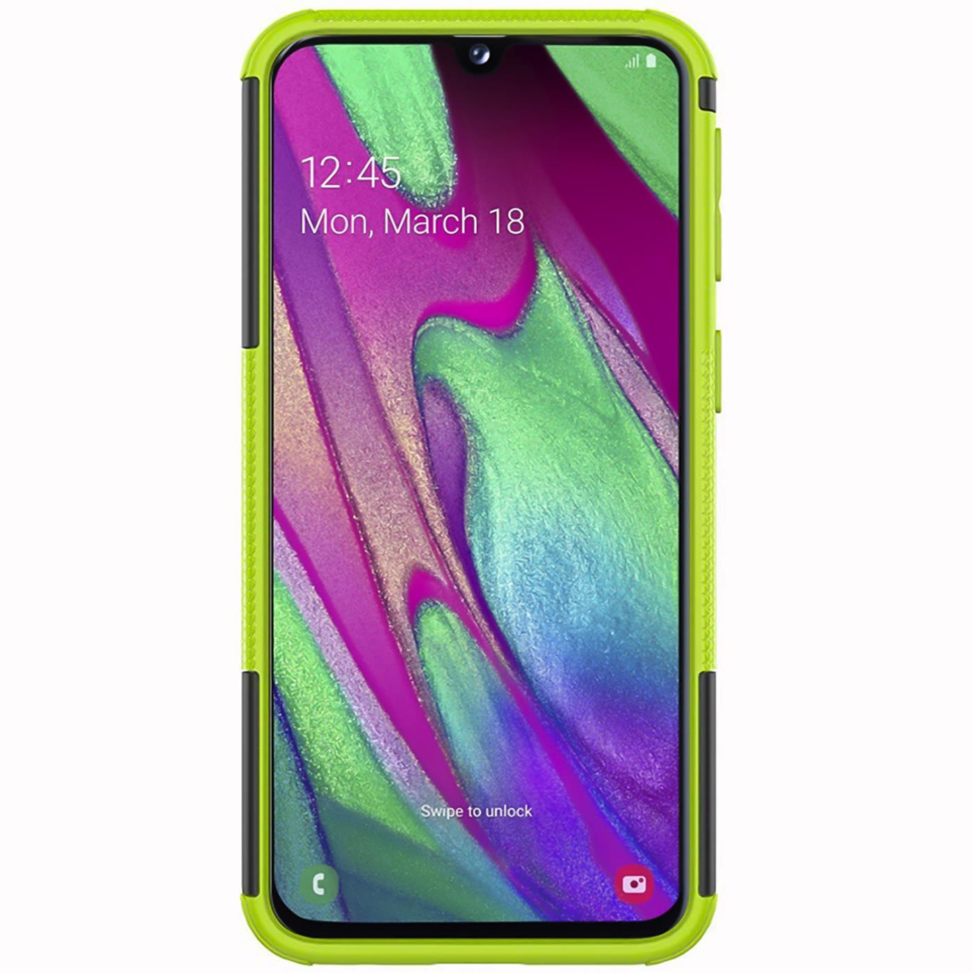 Schutzhuelle-Samsung-Galaxy-A20e-Handy-Tasche-Schutz-Huelle-Hybrid-Panzer-Case Indexbild 14