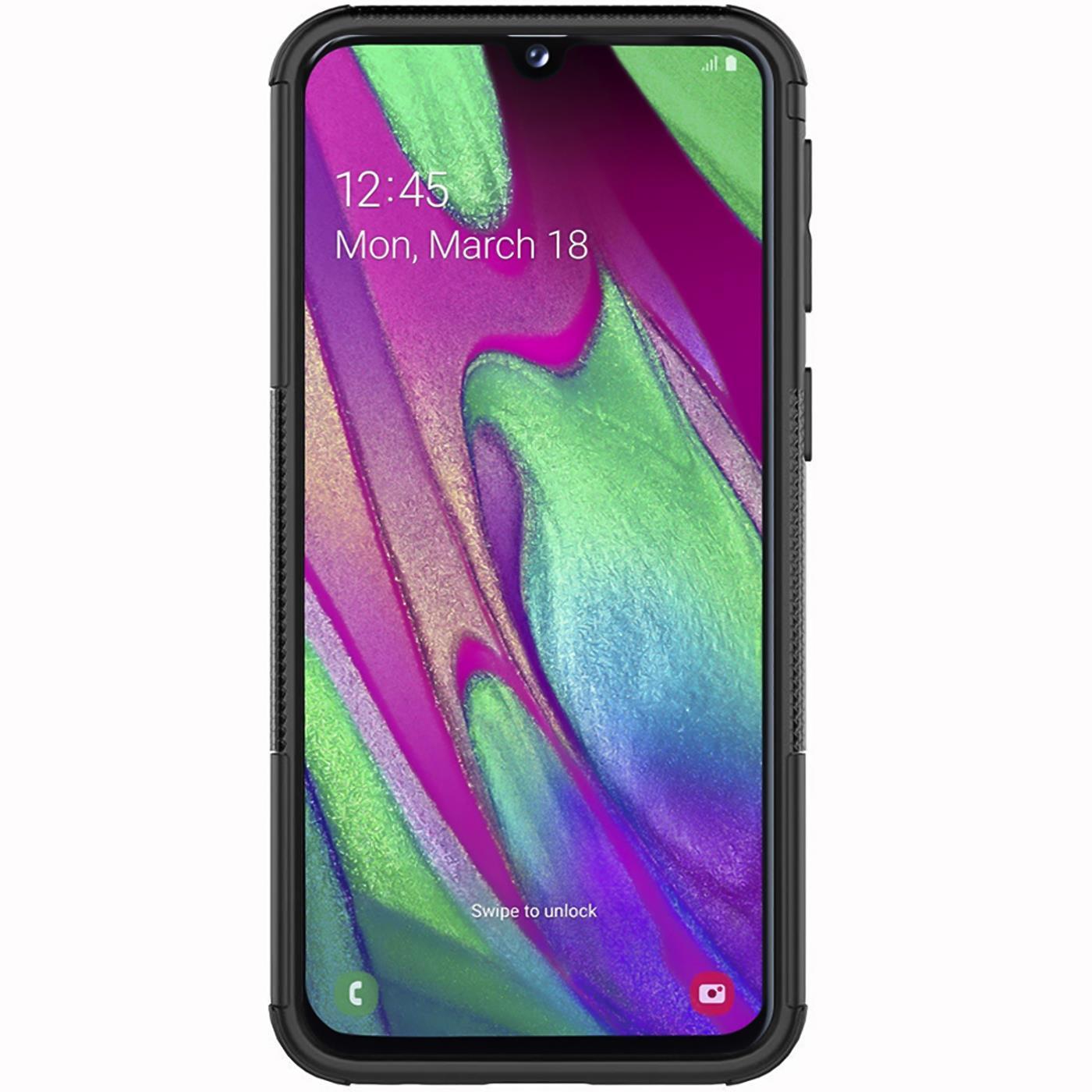 Schutzhuelle-Samsung-Galaxy-A20e-Handy-Tasche-Schutz-Huelle-Hybrid-Panzer-Case Indexbild 18