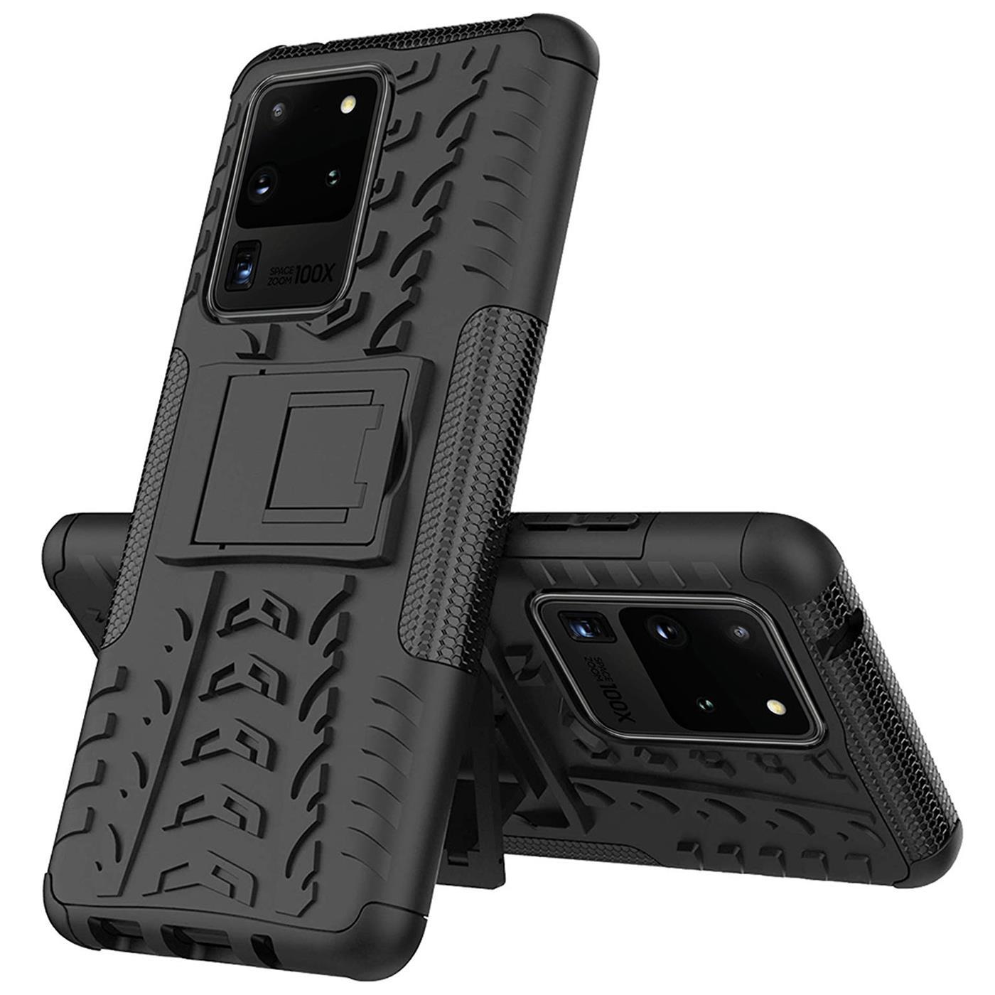 Samsung-Galaxy-S20-Serie-Schutzhuelle-Rugged-Handy-Tasche-Robust-Outdoor-Cover Indexbild 22