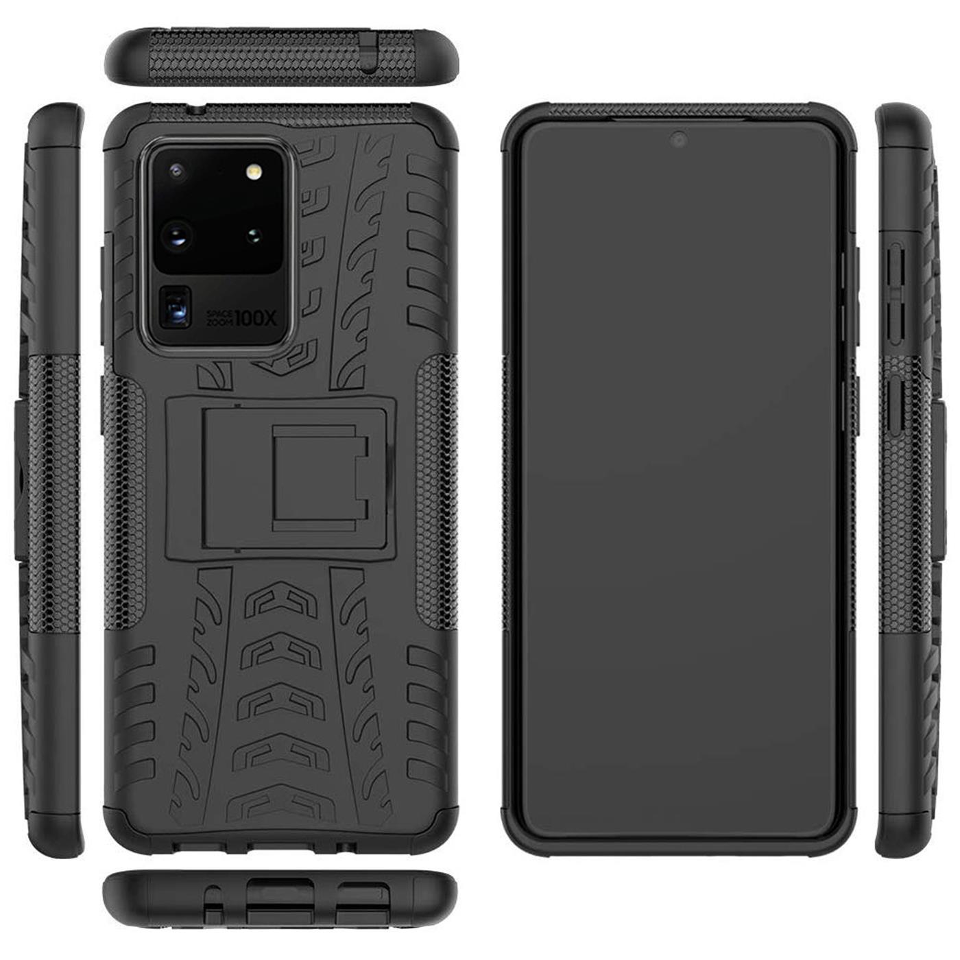 Samsung-Galaxy-S20-Serie-Schutzhuelle-Rugged-Handy-Tasche-Robust-Outdoor-Cover Indexbild 23
