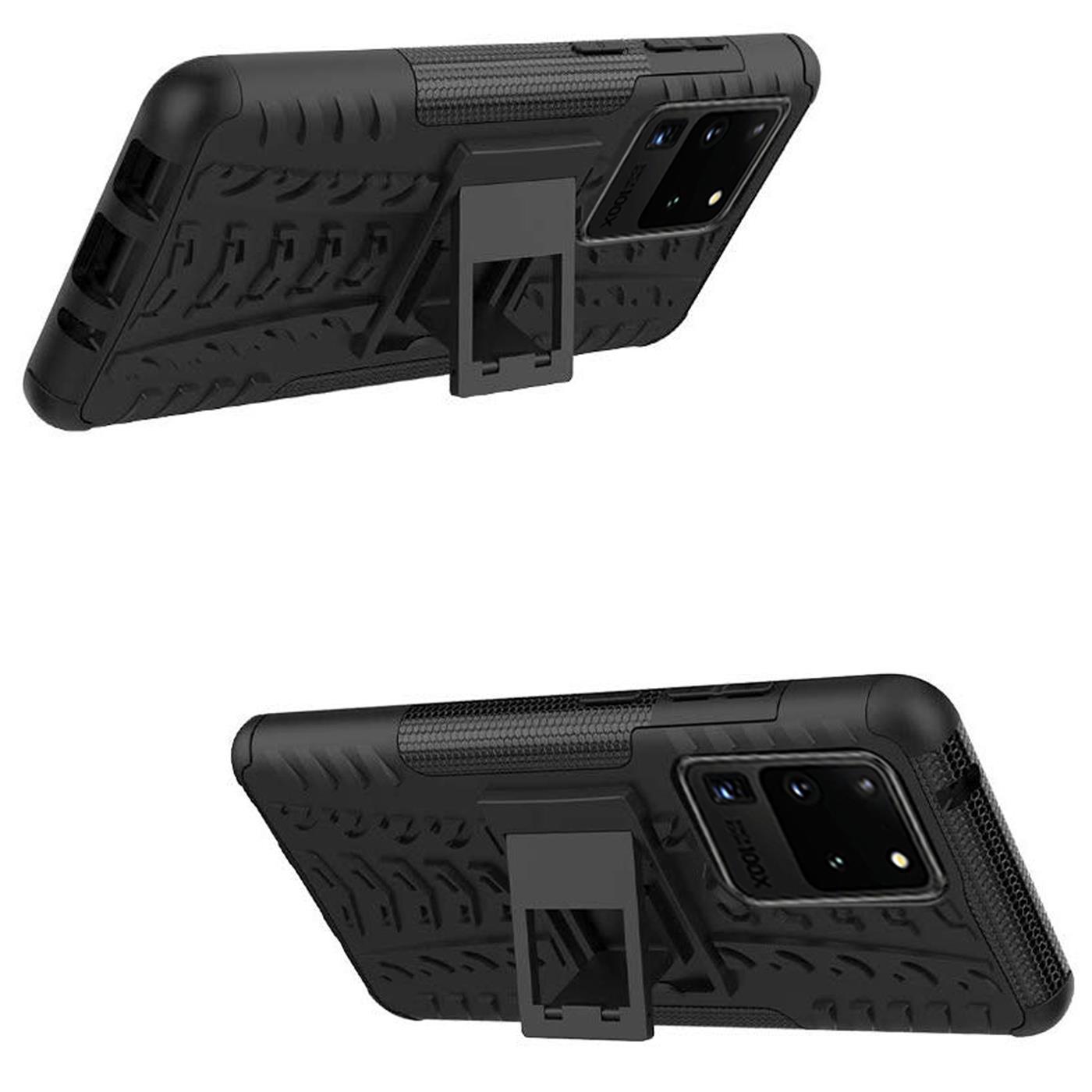 Samsung-Galaxy-S20-Serie-Schutzhuelle-Rugged-Handy-Tasche-Robust-Outdoor-Cover Indexbild 24