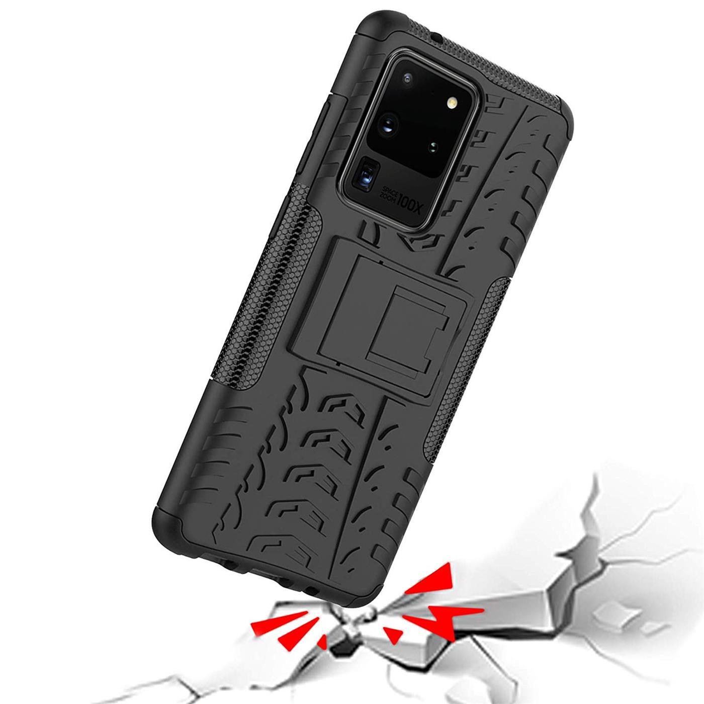 Samsung-Galaxy-S20-Serie-Schutzhuelle-Rugged-Handy-Tasche-Robust-Outdoor-Cover Indexbild 25