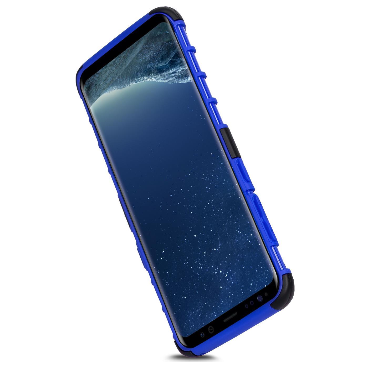 Samsung-Huelle-Hybrid-Panzer-Schutzhuelle-Handy-Schutz-Case-Ruestung-Cover-Tasche Indexbild 9