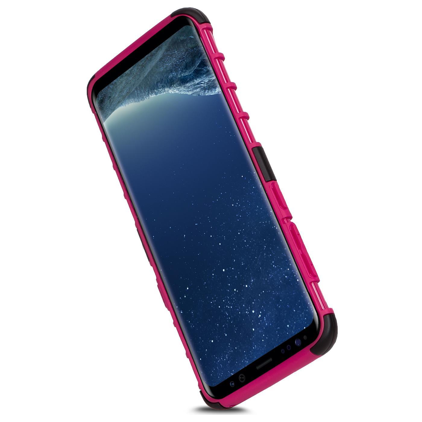 Samsung-Huelle-Hybrid-Panzer-Schutzhuelle-Handy-Schutz-Case-Ruestung-Cover-Tasche Indexbild 15
