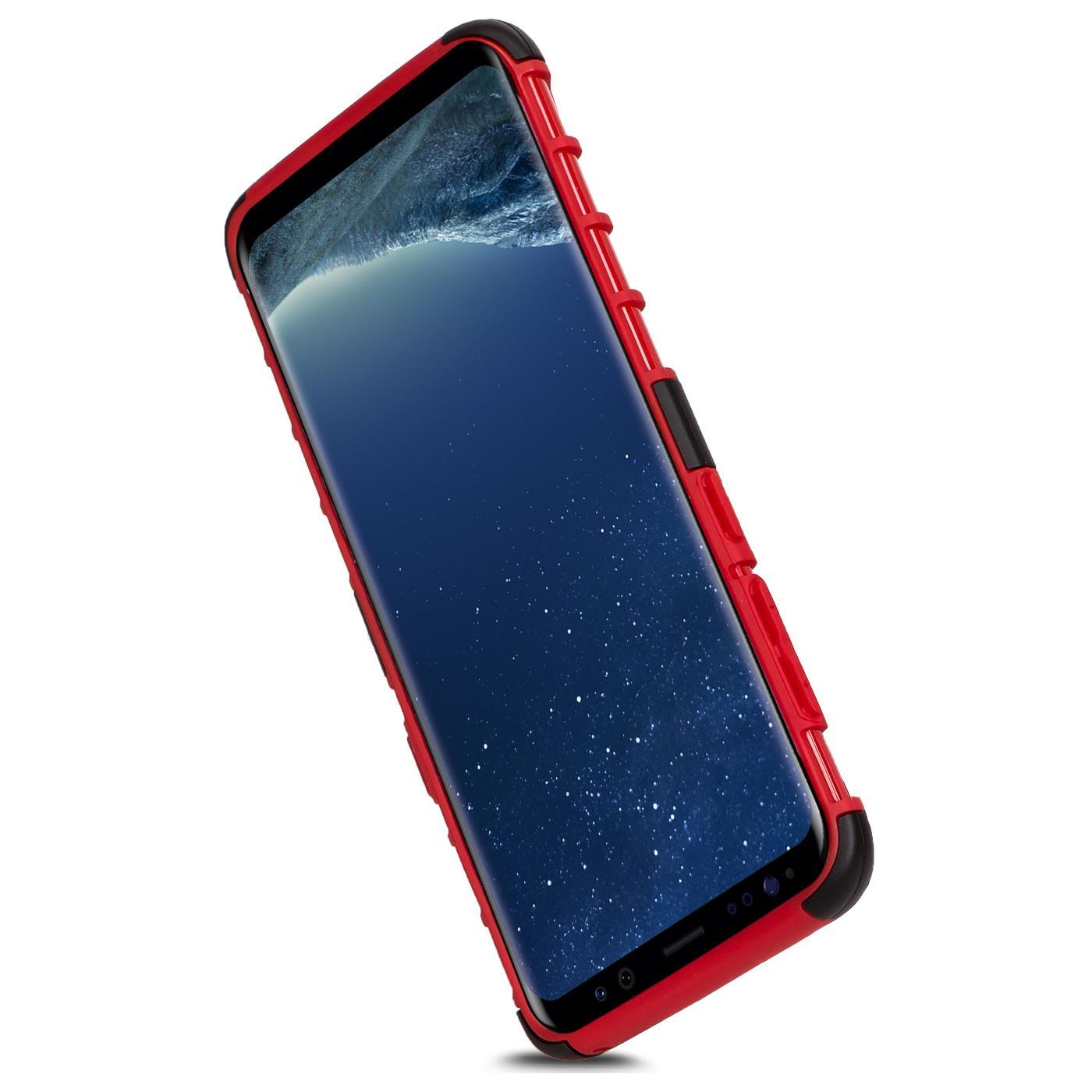 Samsung-Huelle-Hybrid-Panzer-Schutzhuelle-Handy-Schutz-Case-Ruestung-Cover-Tasche Indexbild 13