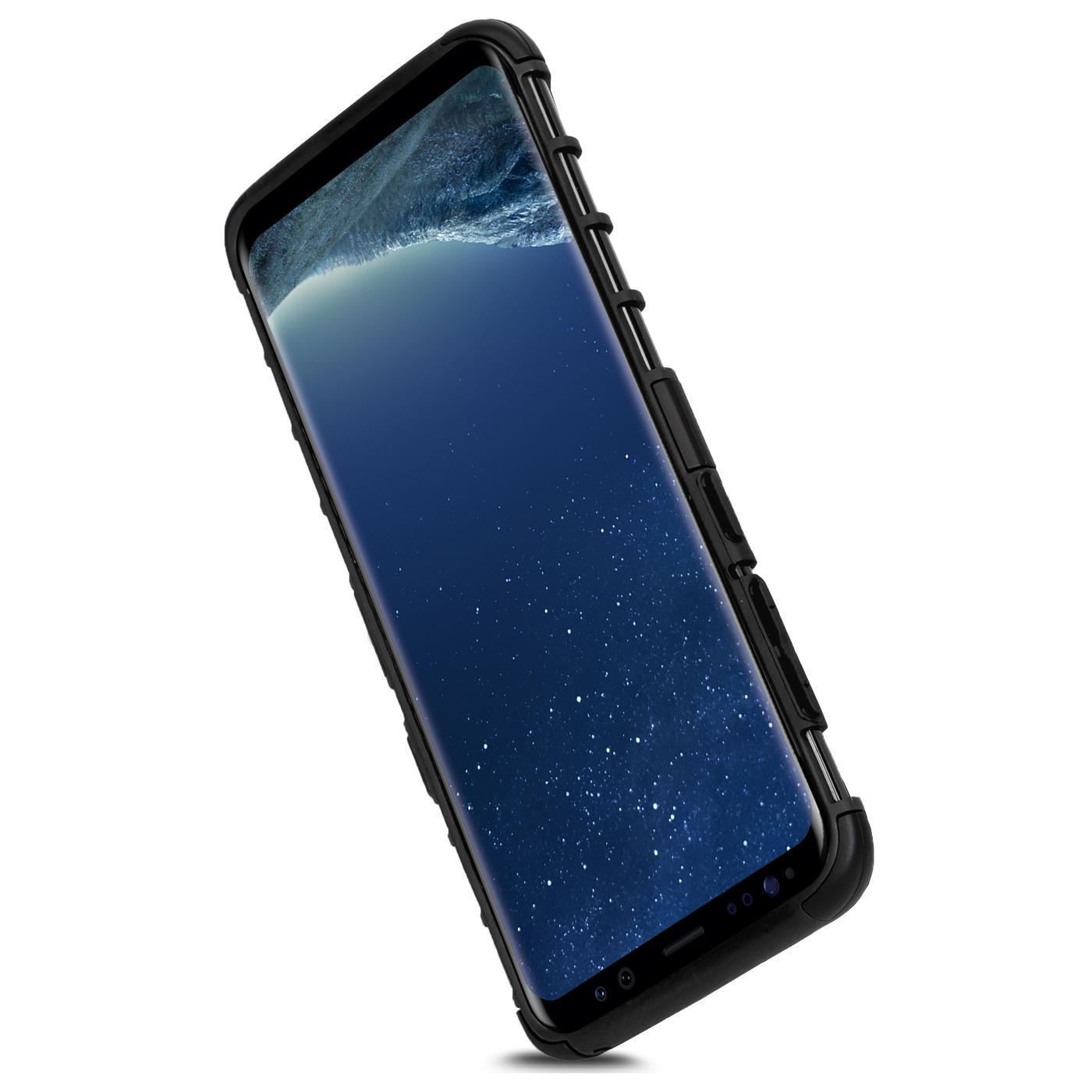 Samsung-Huelle-Hybrid-Panzer-Schutzhuelle-Handy-Schutz-Case-Ruestung-Cover-Tasche Indexbild 7