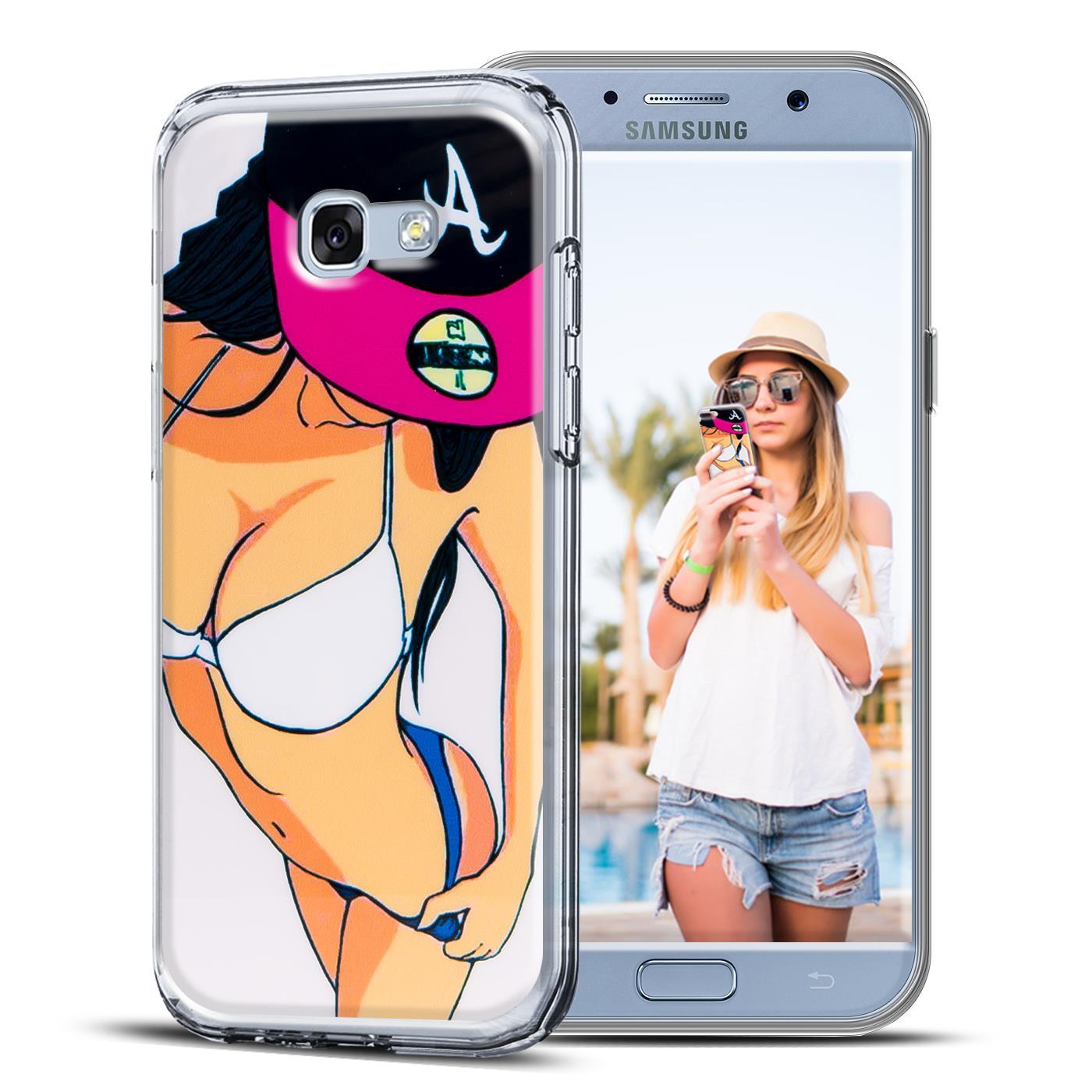 Handyhuelle-fuer-Samsung-Galaxy-Huelle-Schutz-Case-Silikon-TPU-Cover-Motiv-Tasche
