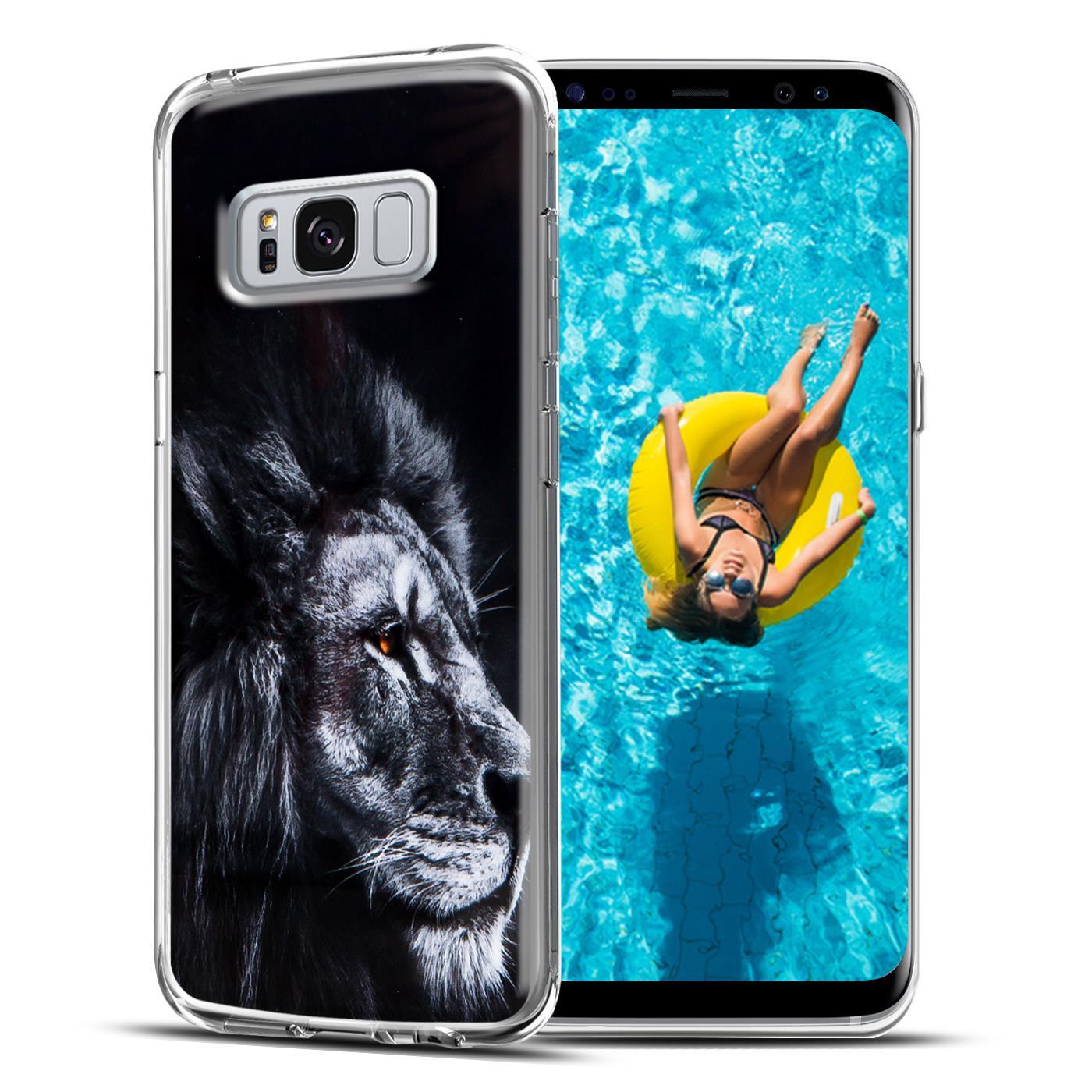 Handy-Huelle-fuer-Samsung-Galaxy-Schutzhuelle-TPU-Silikon-Backcover-Case-Slim-Motiv
